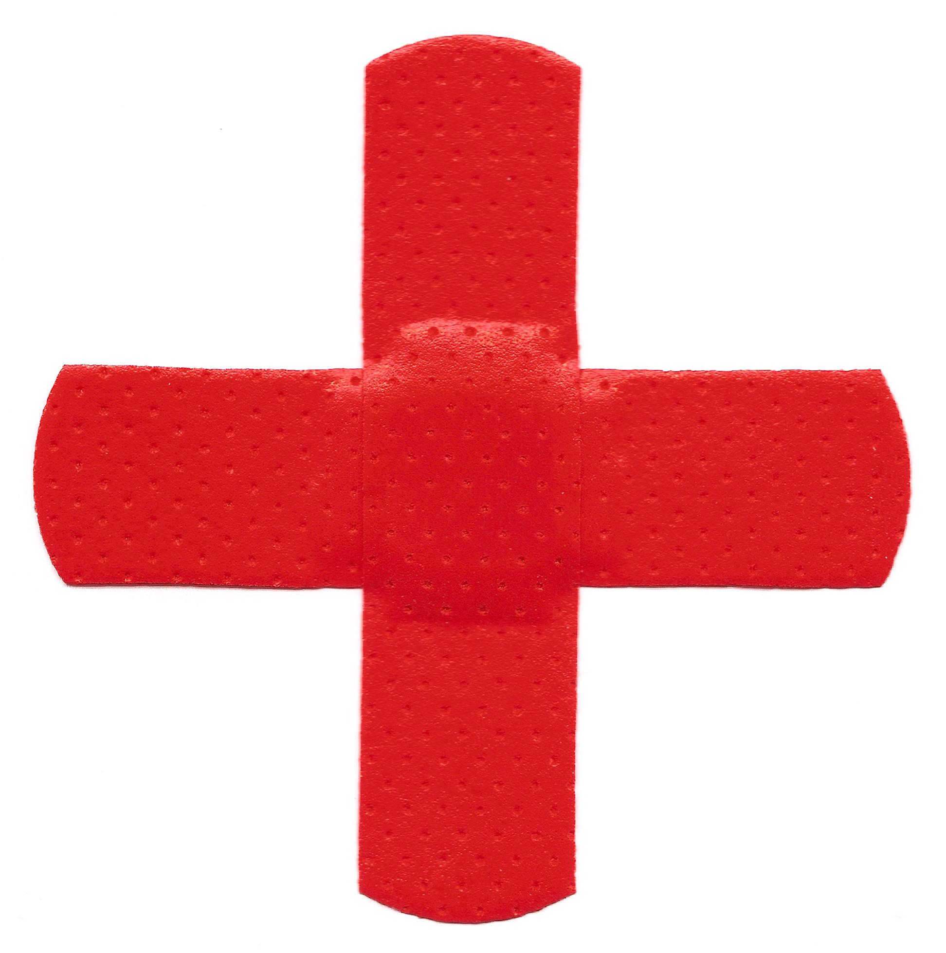 Cross bandages photo