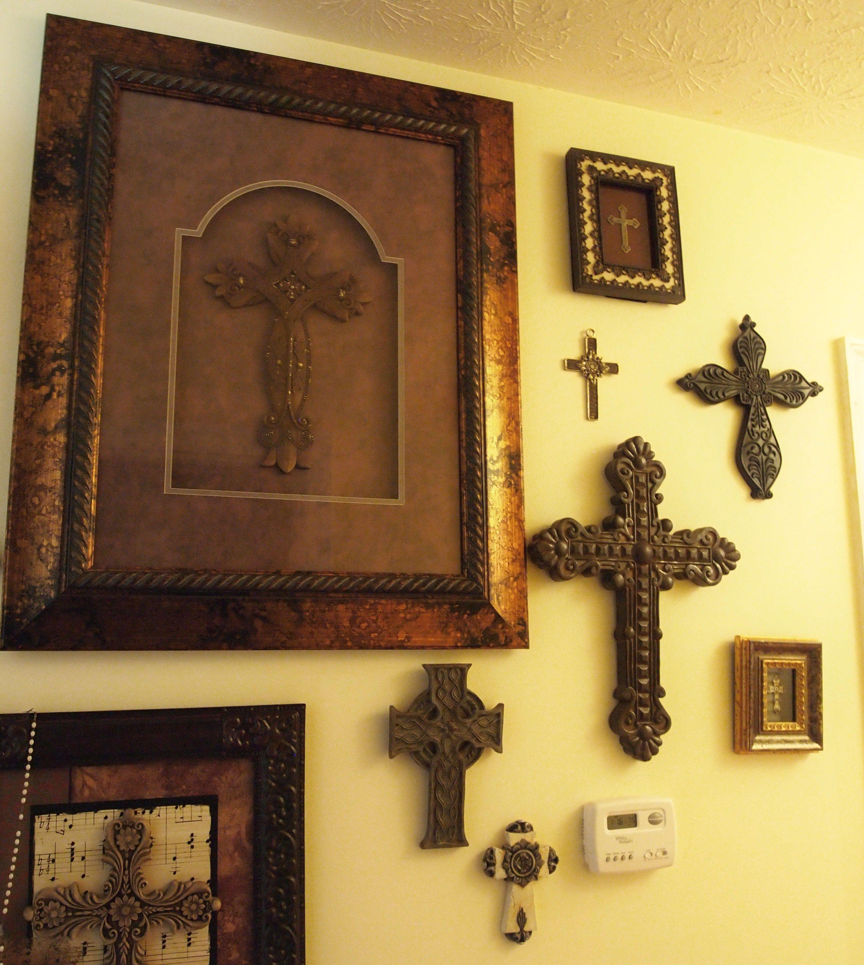 Free photo: Cross on wall - Religion, Ornament, Jesus - Free ...