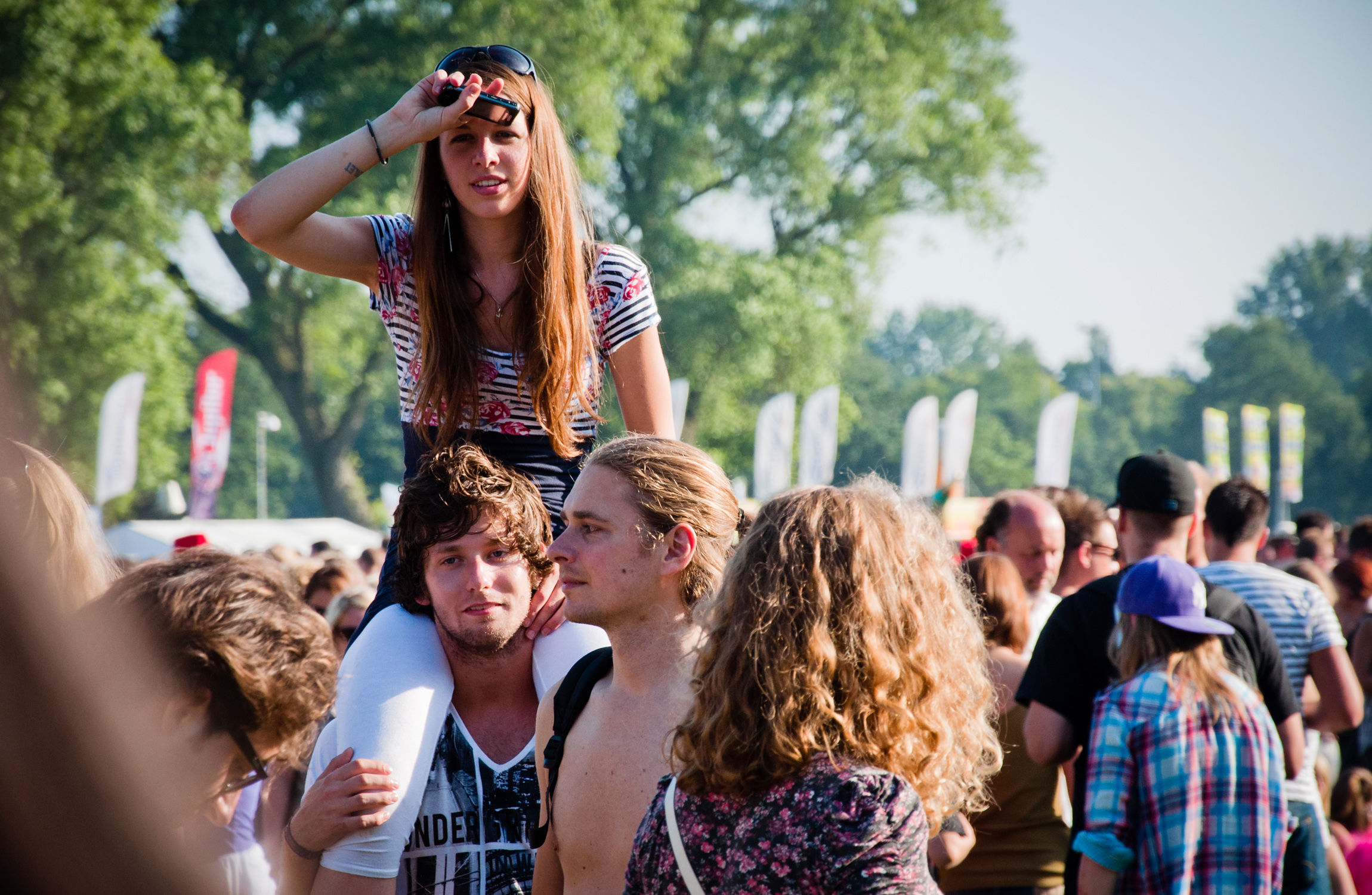 Crowd of people, Boy, People, Watching, Standing, HQ Photo