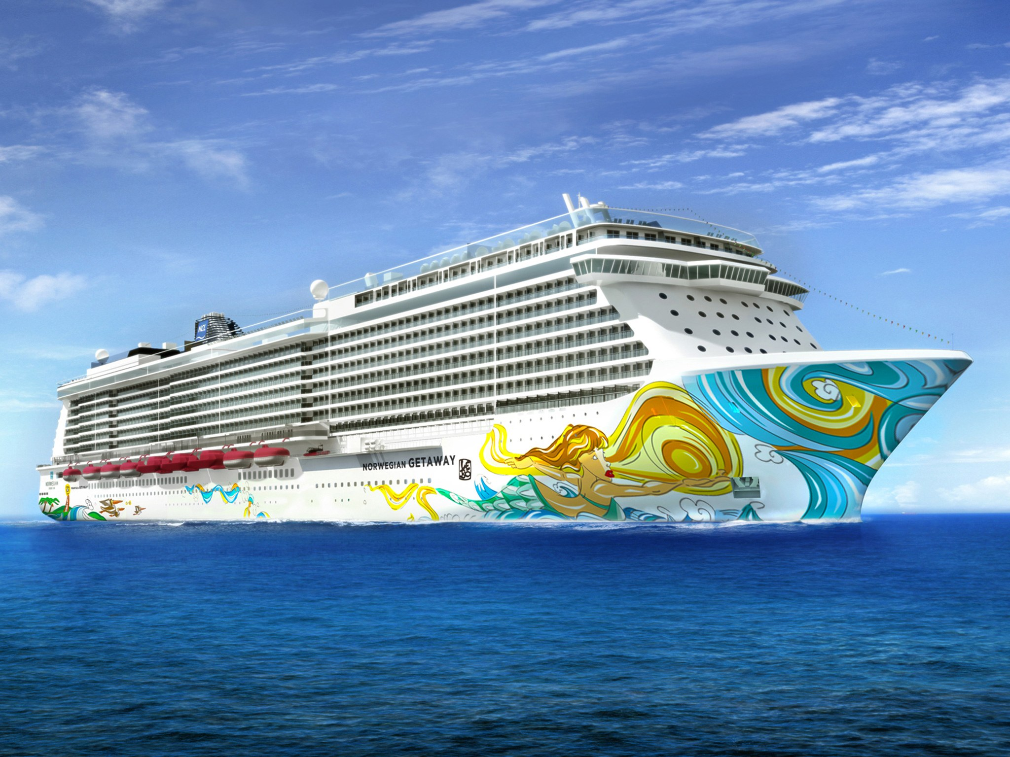 Norwegian Cruise Line provides first look at the new project ...