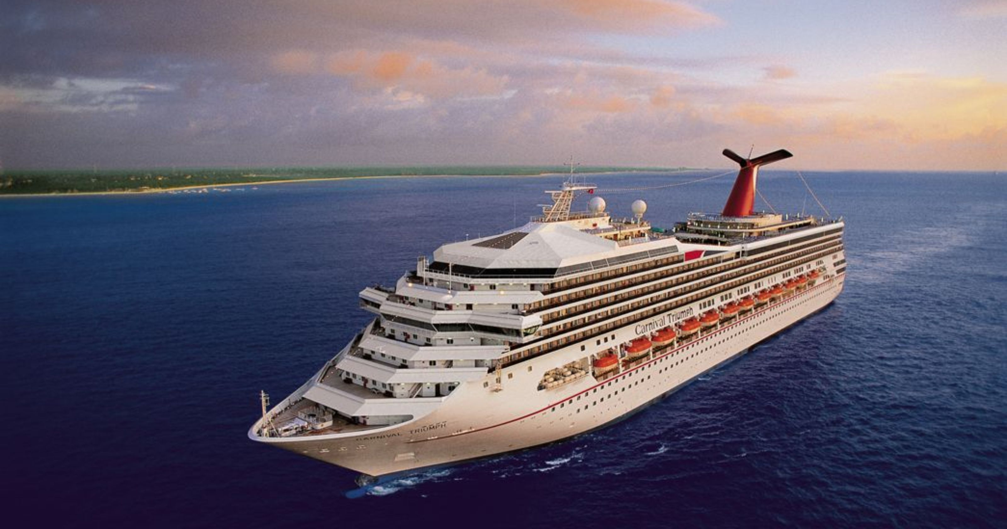 Woman falls overboard from cruise ship after leaving New Orleans
