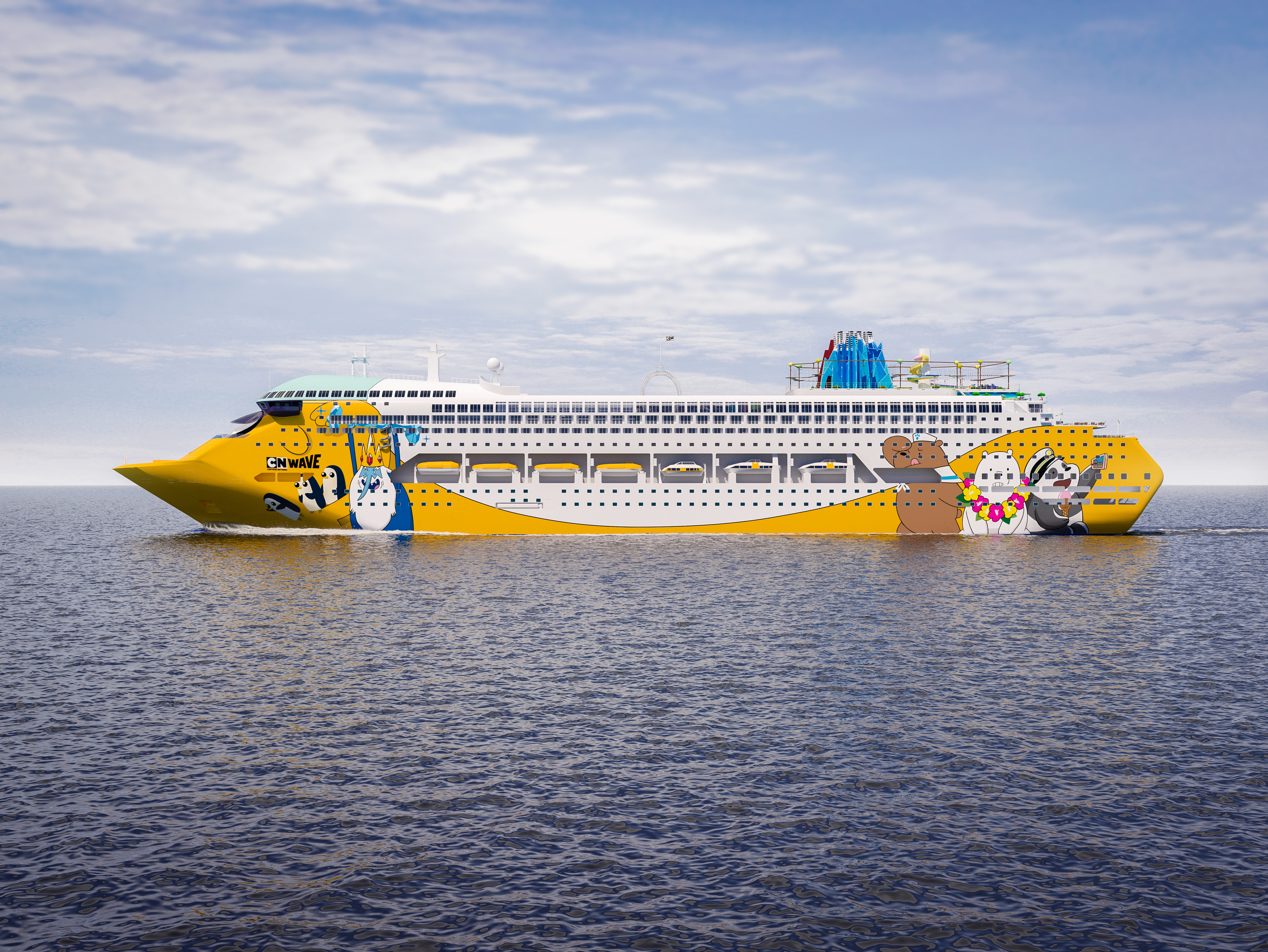 Cartoon Network reveals colorful new cruise ship | CNN Travel