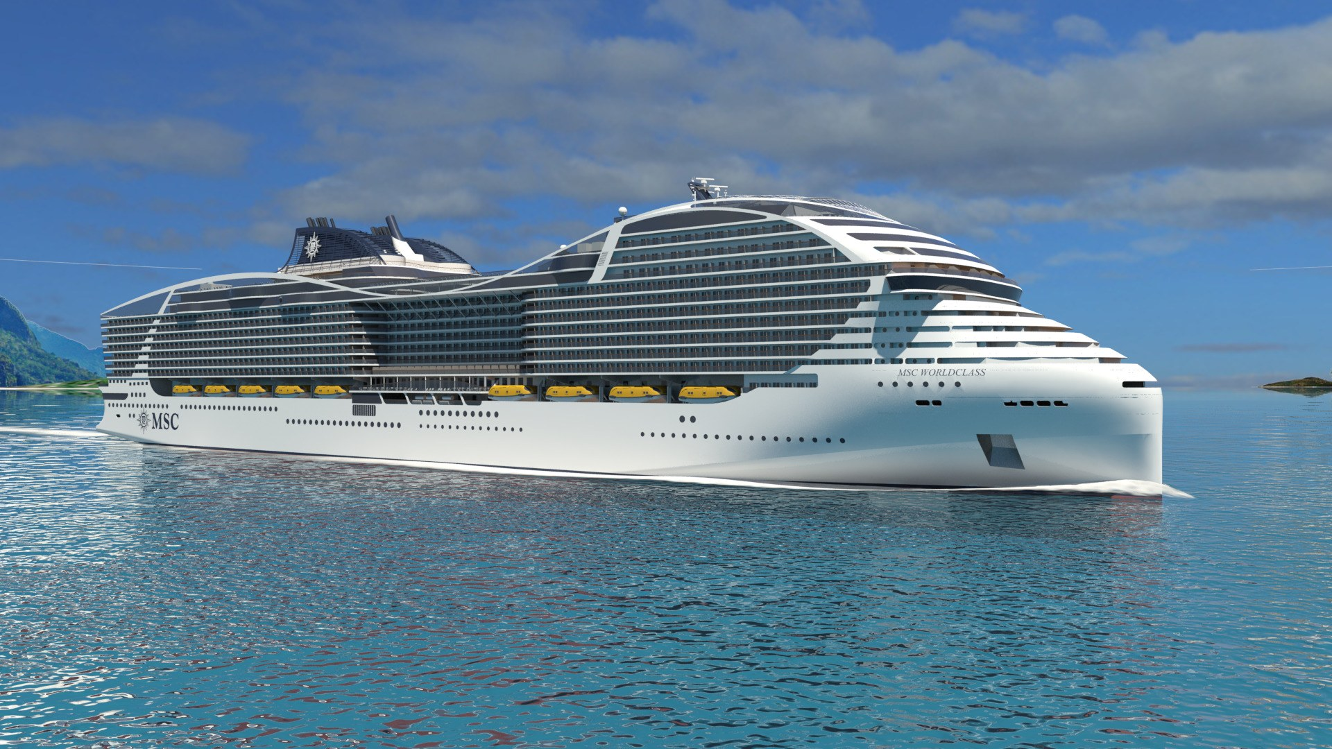 Biggest Cruise Ship in the World Announced by MSC Cruises - Condé ...