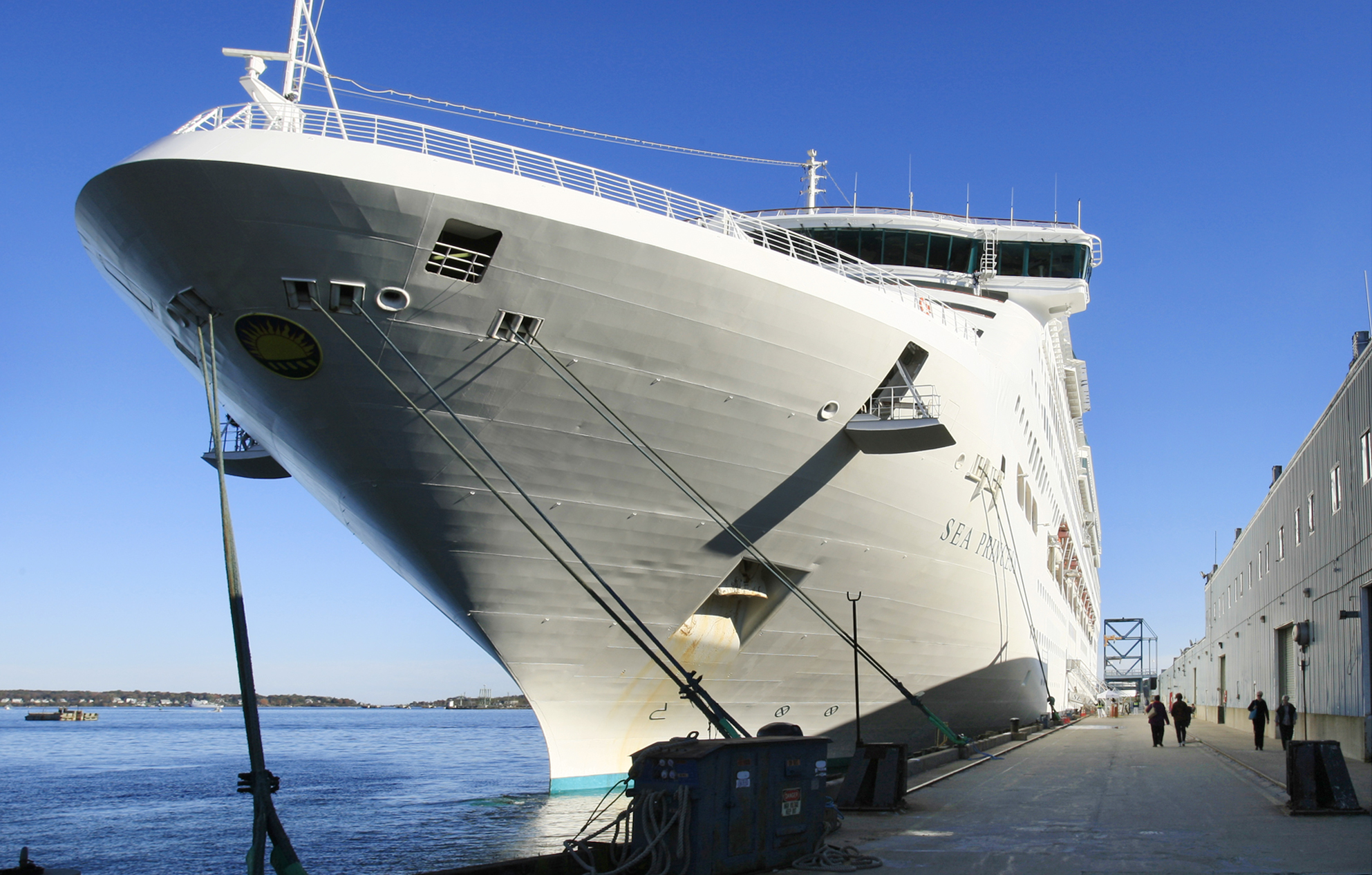 Sea Princess Cruise Undergoes 10 Day Blackout for Fear of Pirates ...
