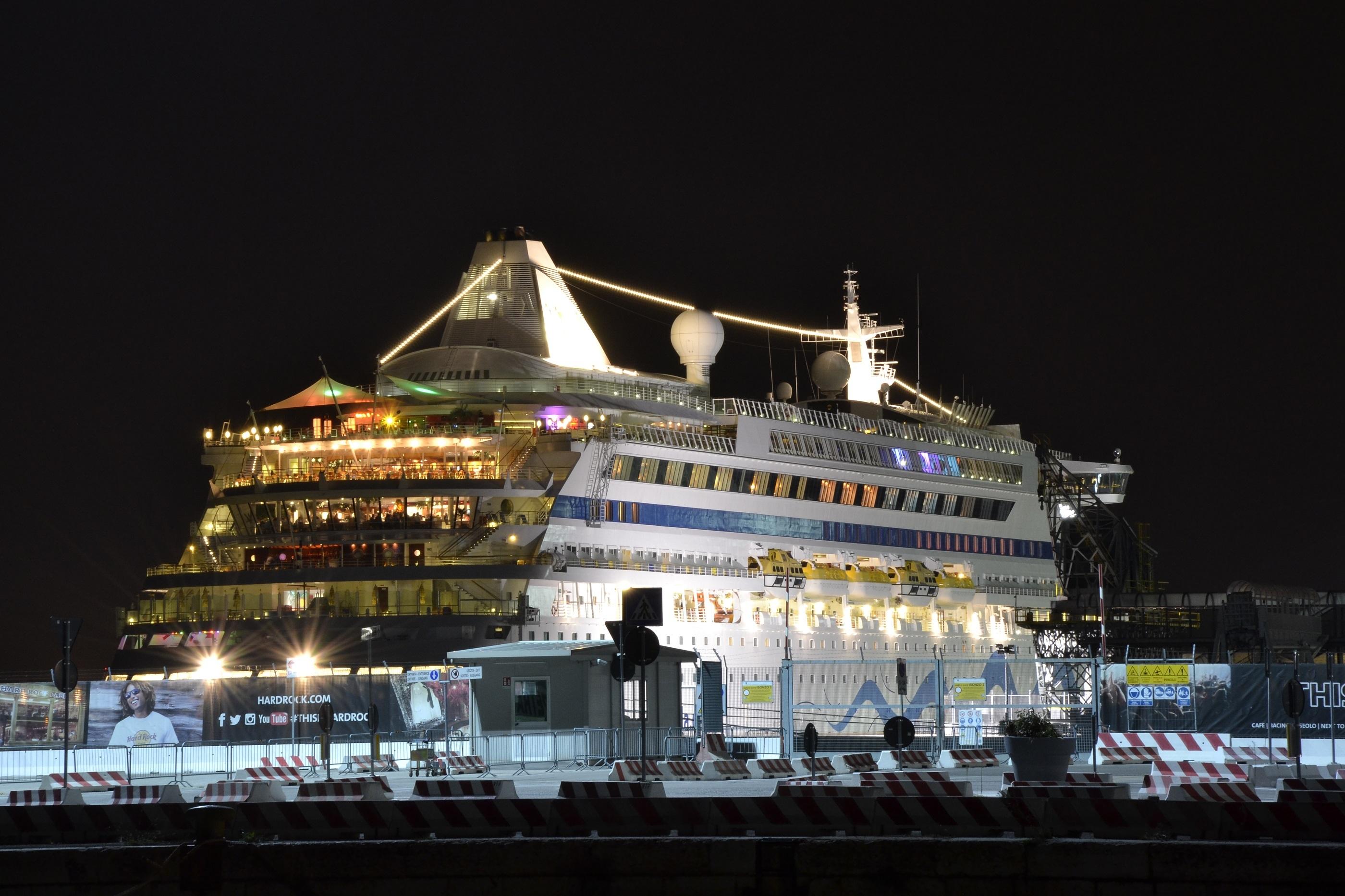 Cruise Ship, Boat, Cruise, Journey, Night, HQ Photo