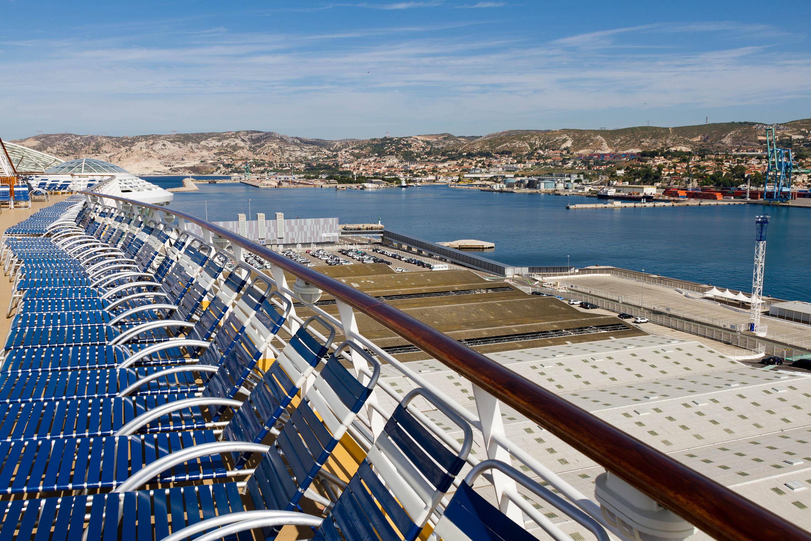 Cruise Ship Docked, Blue, Sea, View, Vessel, HQ Photo