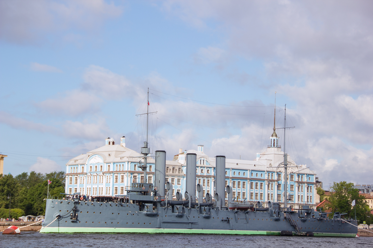 Cruiser Aurora, Artillery, Neva, Warship, Town, HQ Photo