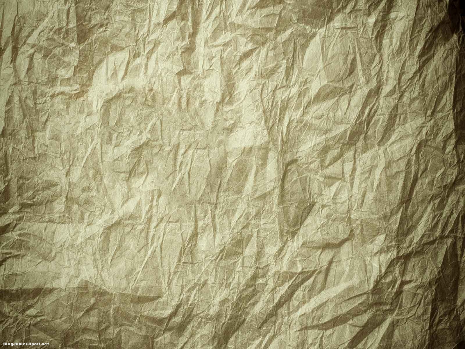 Crumpled Paper Background for Powerpoint – Blog BibleClipart