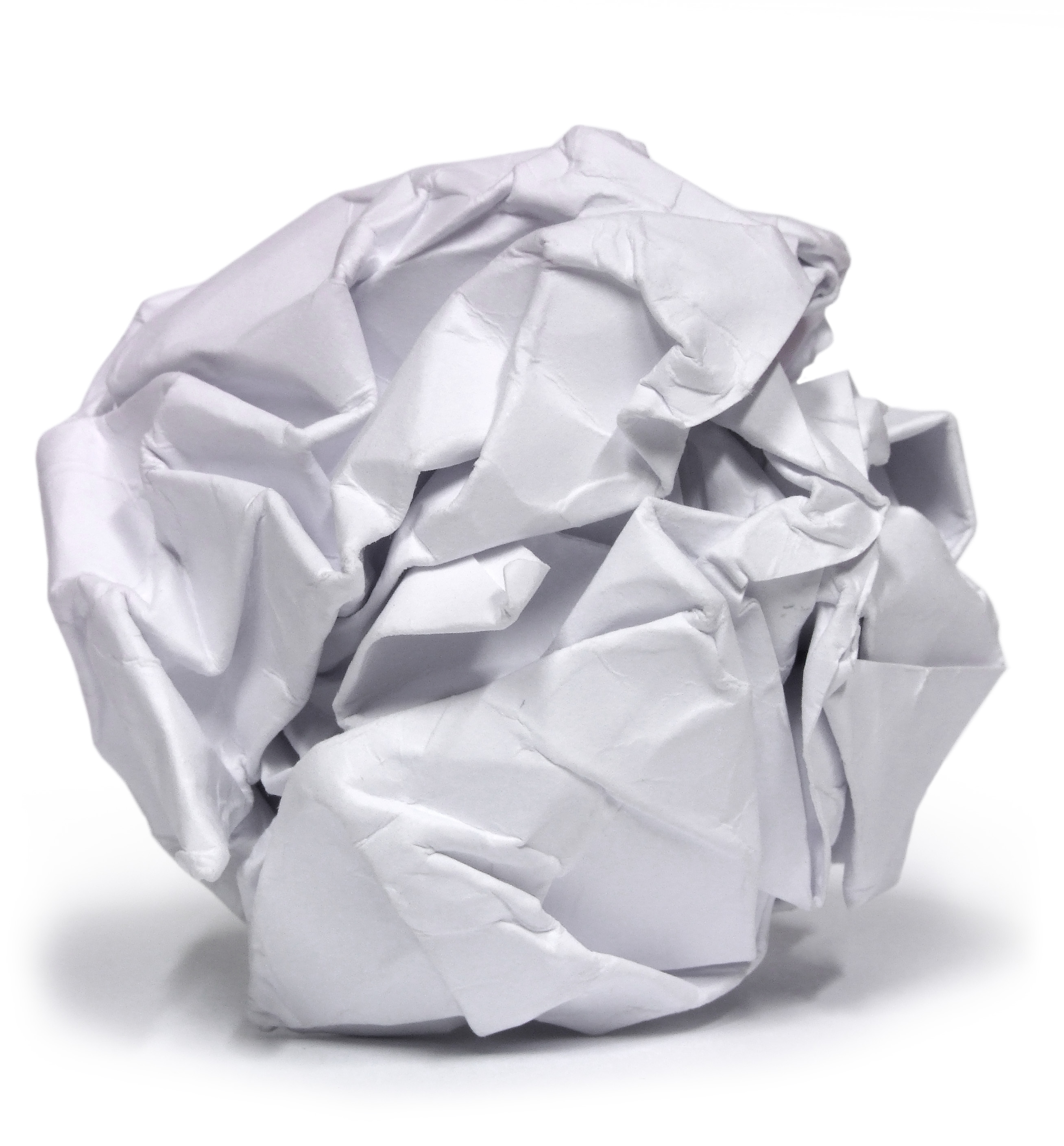 Crumpled paper clipart png