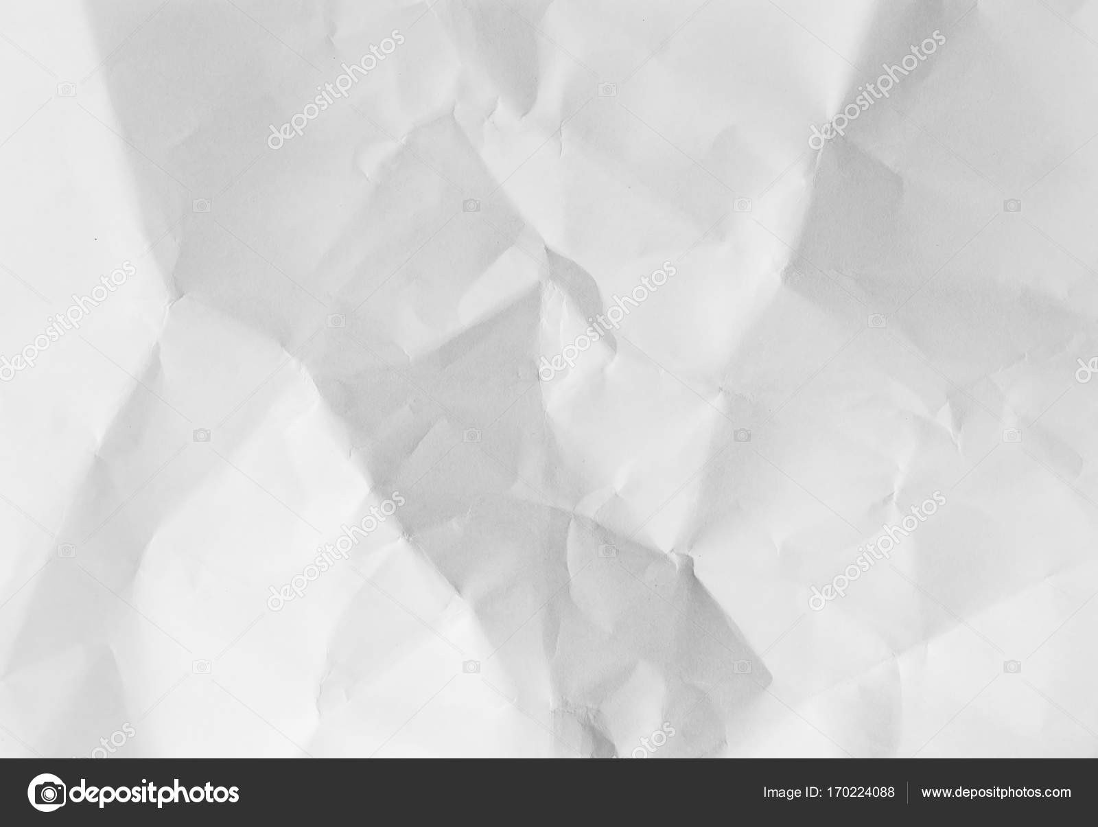 White crumpled paper, high resolution background — Stock Photo ...