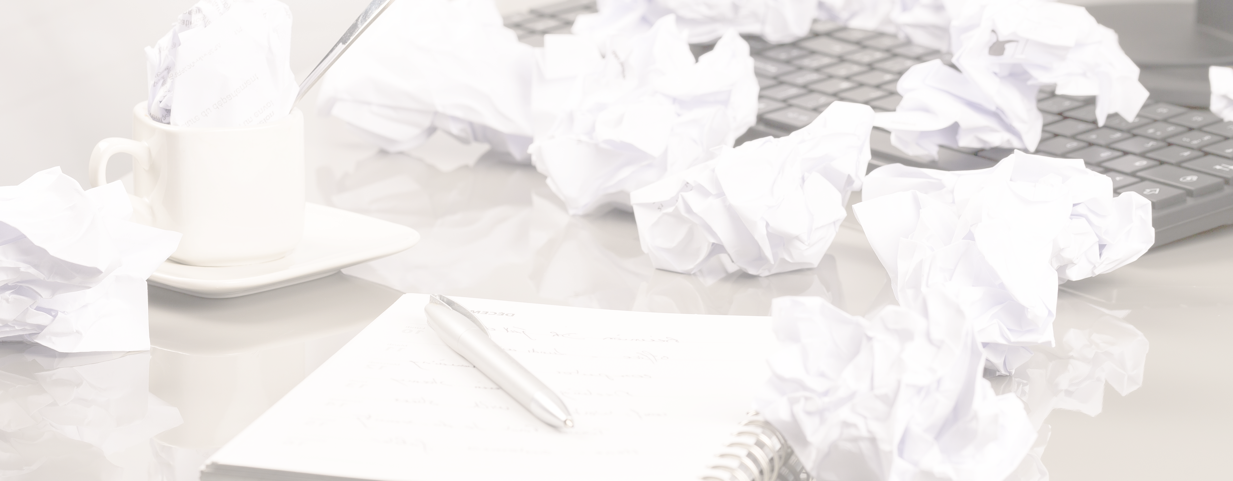 crumpled paper • Joy Bennett Consulting