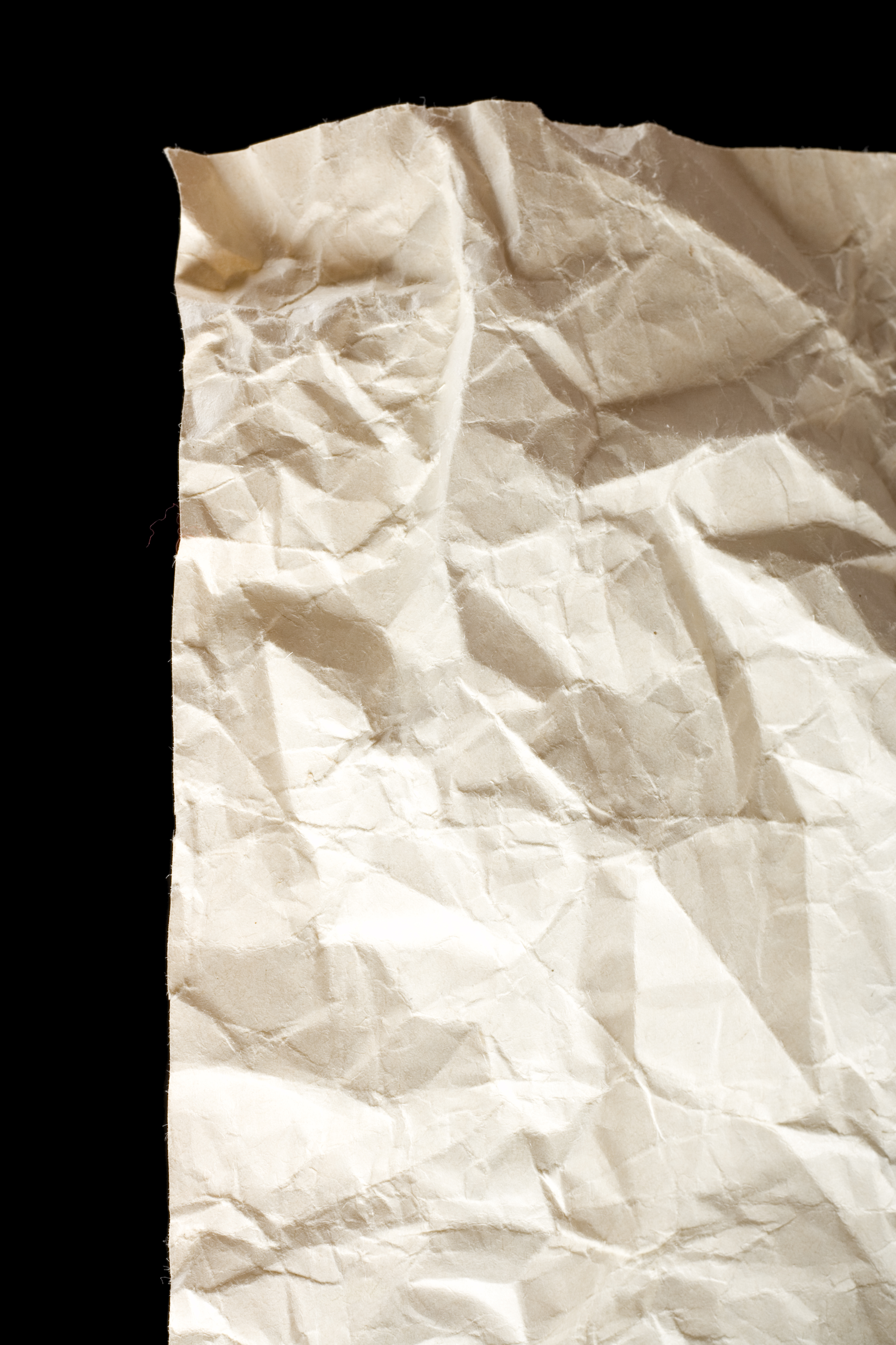 crumpled paper, Backgrounds, Obsolete, Wrapping, White, HQ Photo