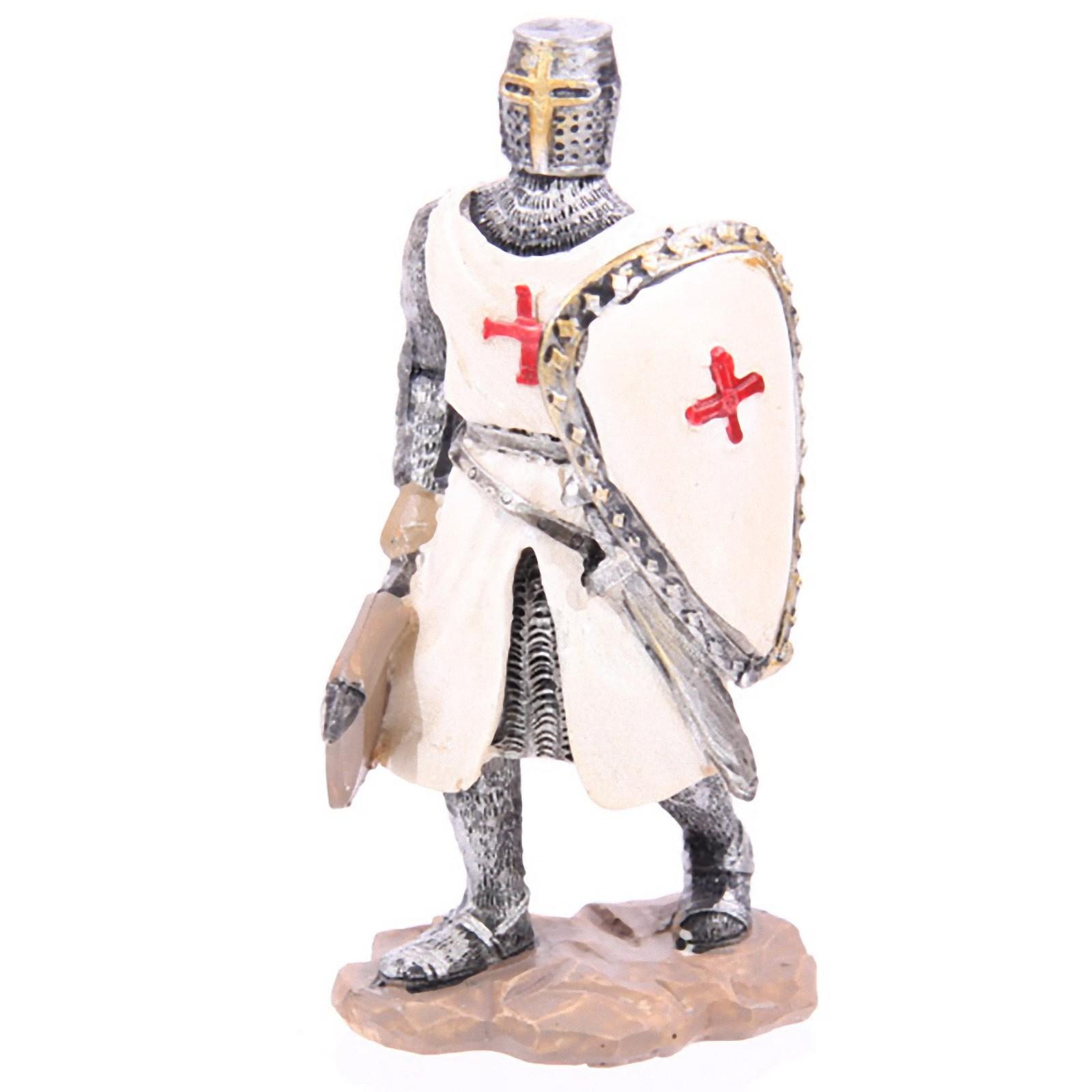 Medieval Crusader Knight Armour Shield Height 11.5cm | eBay