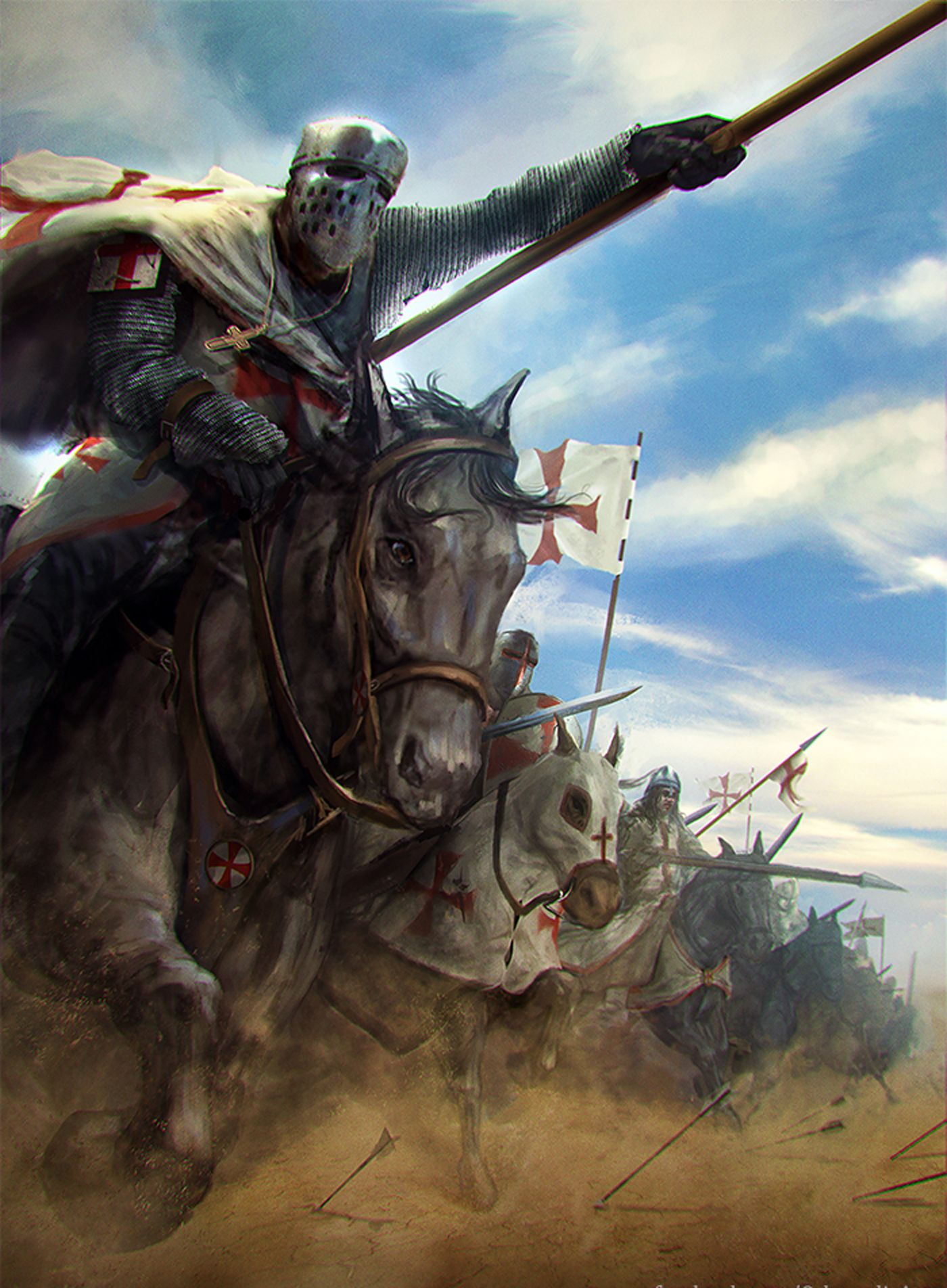 Charge of the Crusaders … | Pinteres…