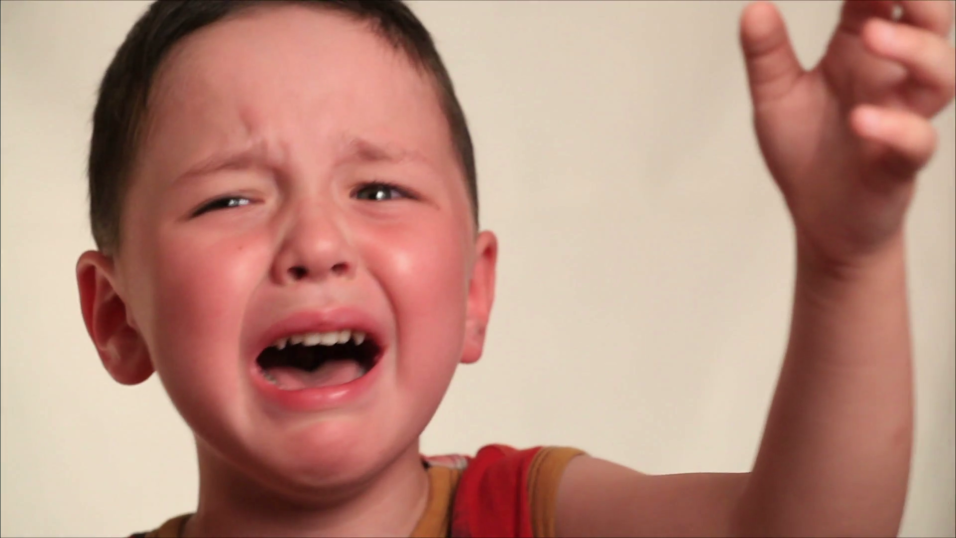 little boy crying Stock Video Footage - Videoblocks