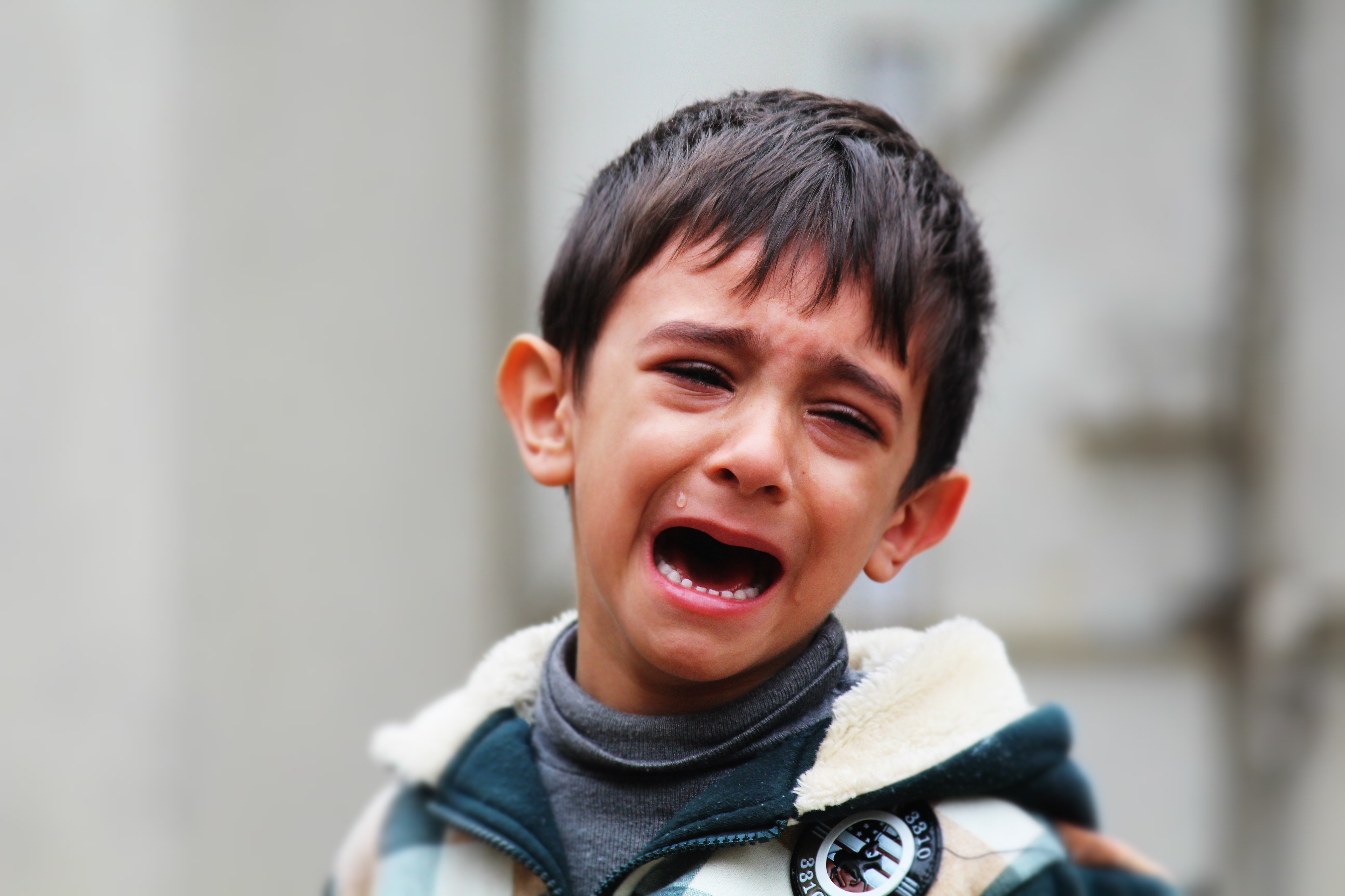 Free stock photo of boy, child, crying