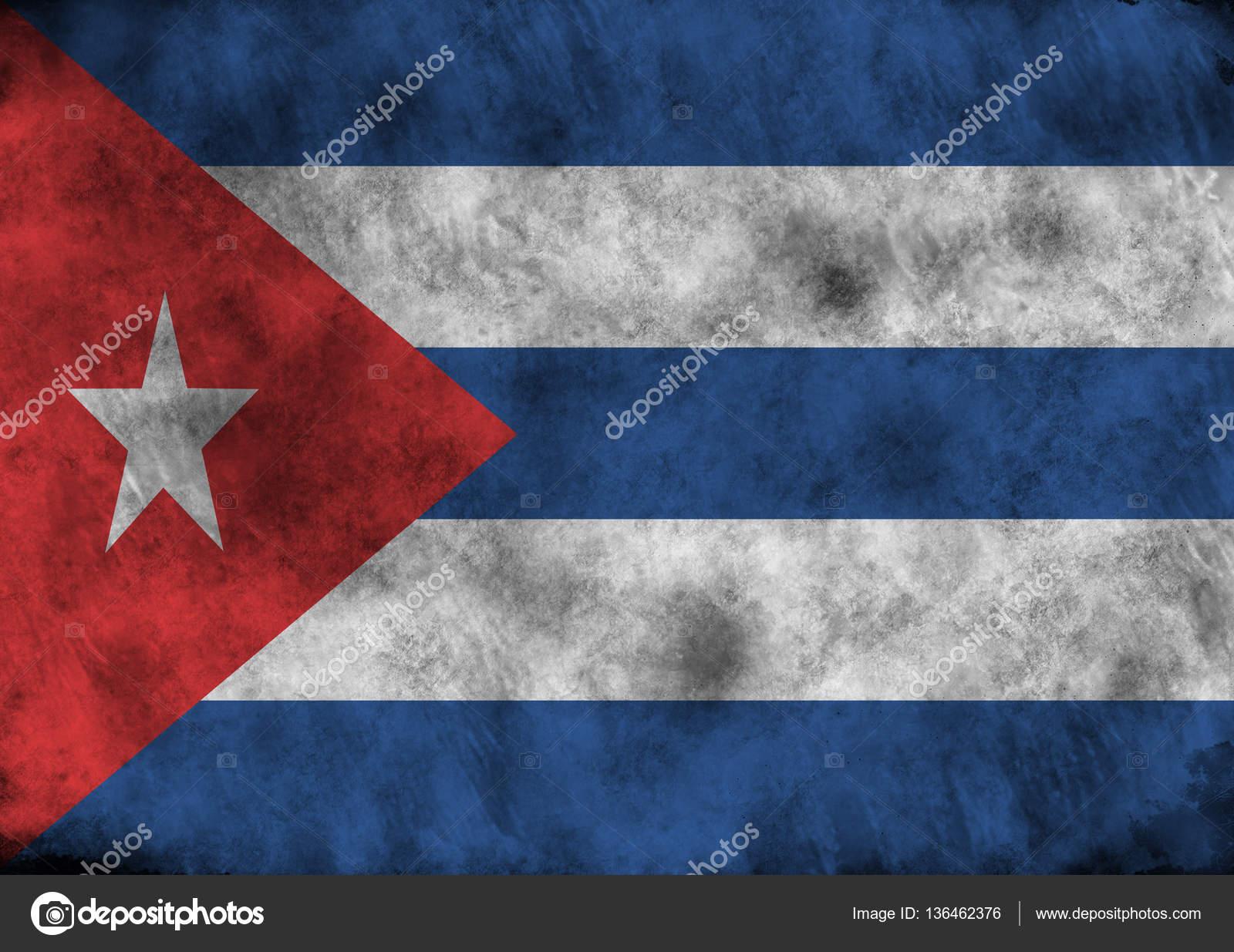 Grunge Cuba flag. — Stock Photo © firea #136462376