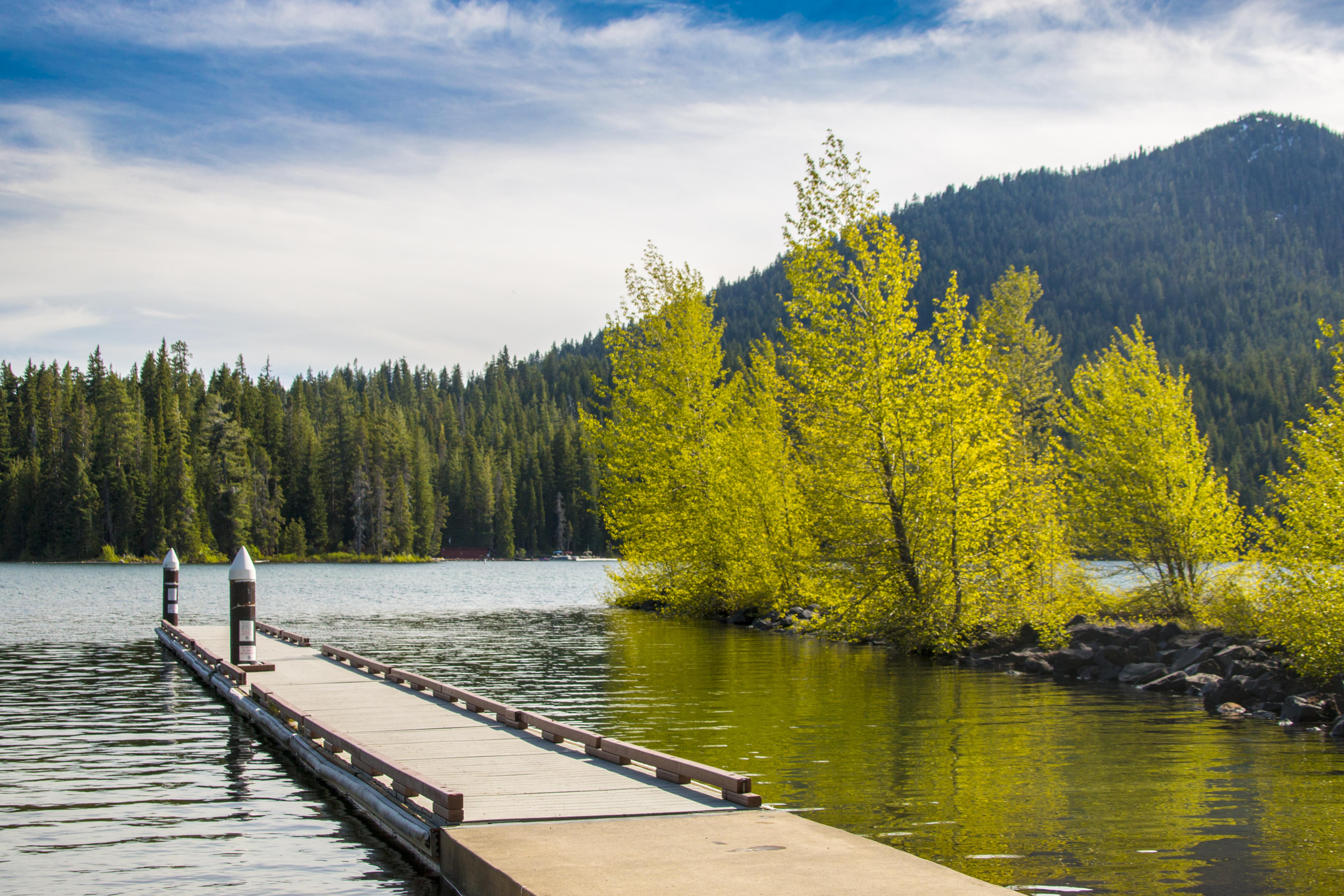 Cultus Lake, Oregon, River, Water, Oregon, Landscape, HQ Photo