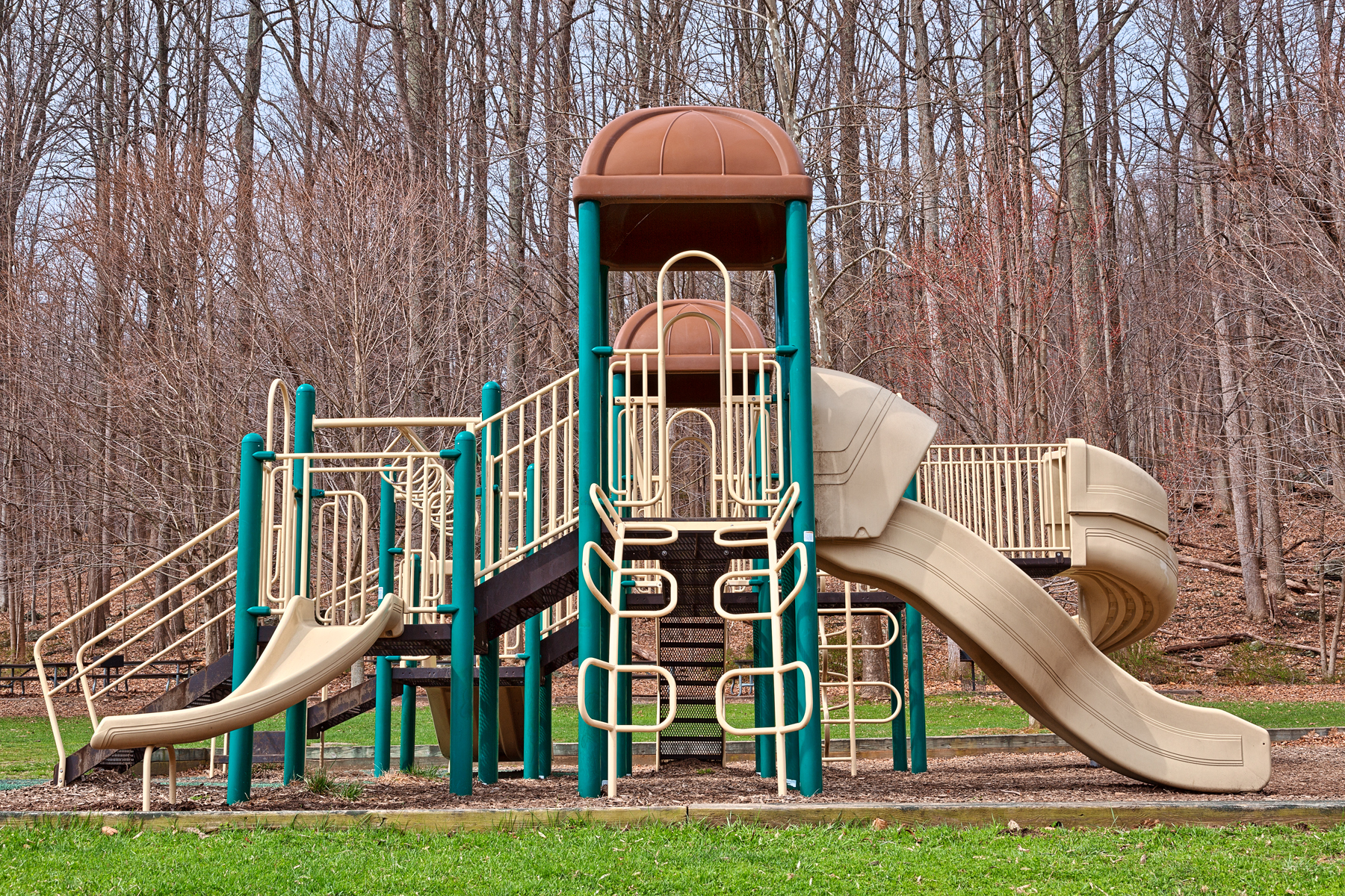 Cunnningham playground - hdr photo