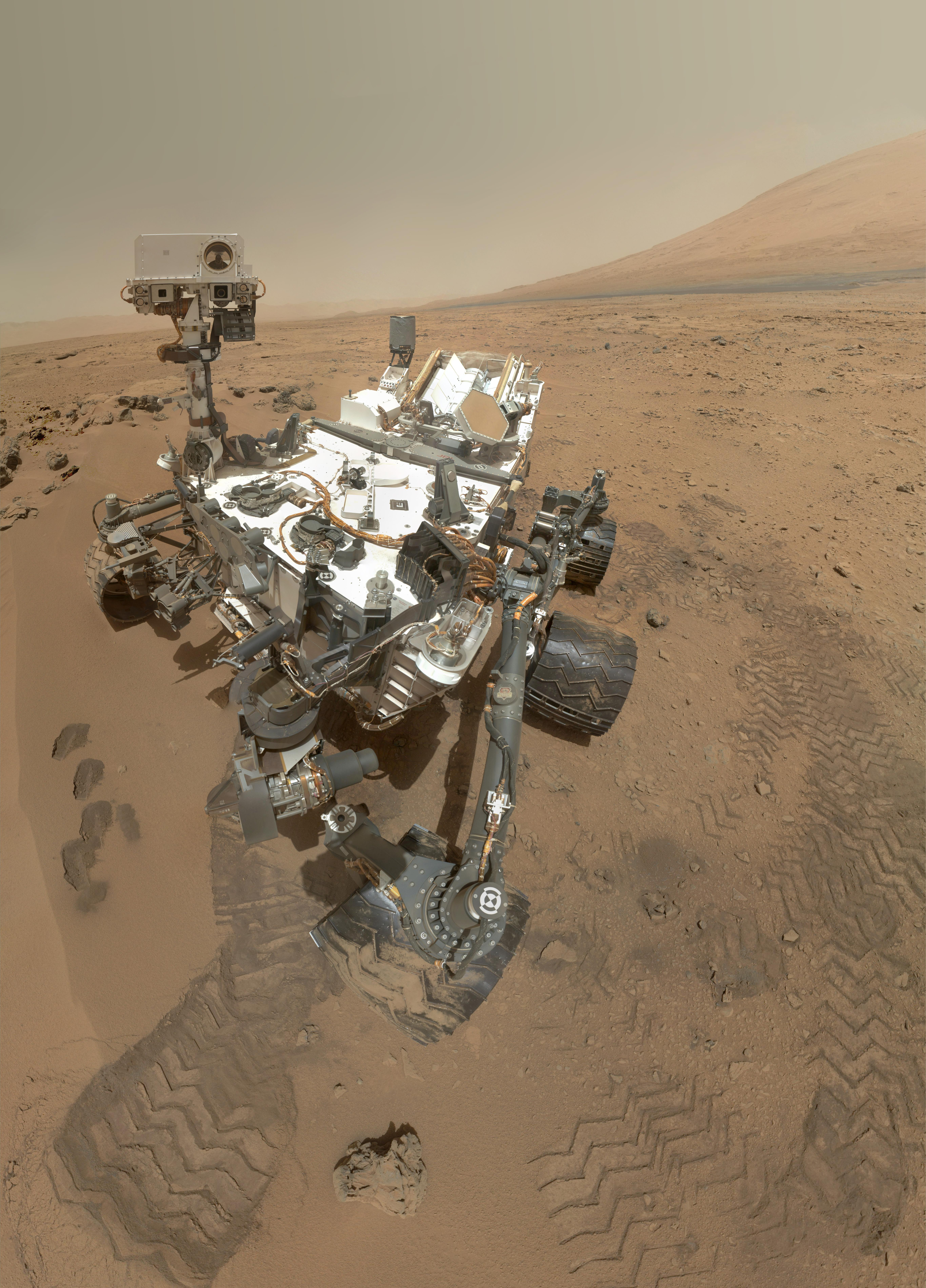 High-Resolution Self-Portrait by Curiosity Rover Arm Camera | NASA