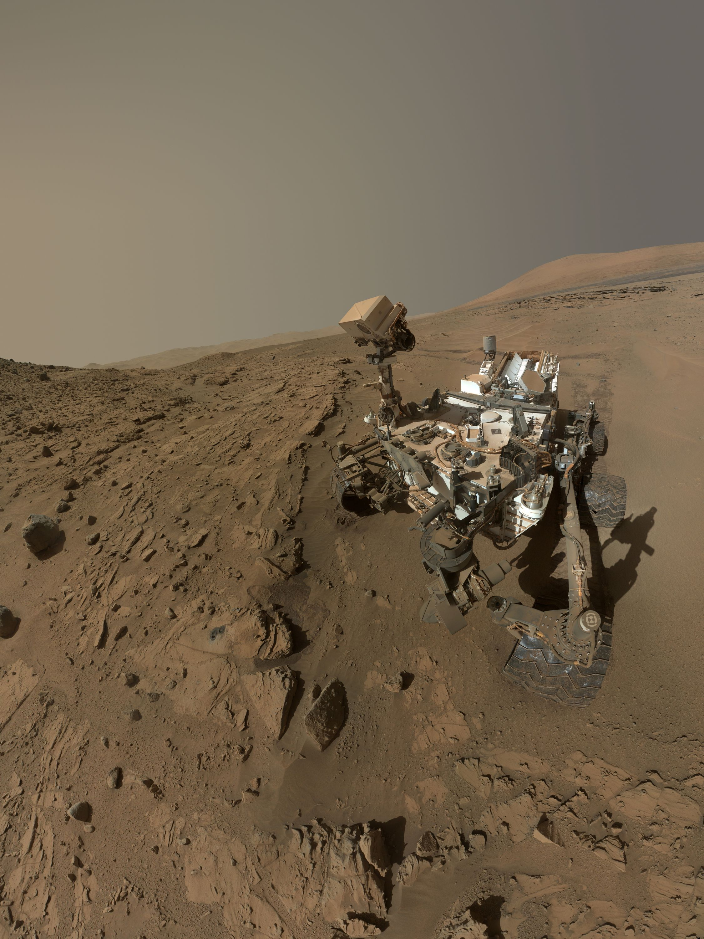 NASA Curiosity Rover unearths building blocks in 3-billion-year-old ...