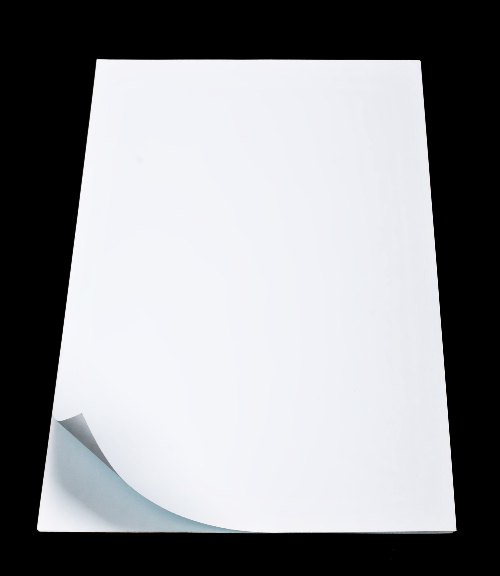 Curled White Paper, Abstract, Parchment, Notebook, Notepad, HQ Photo
