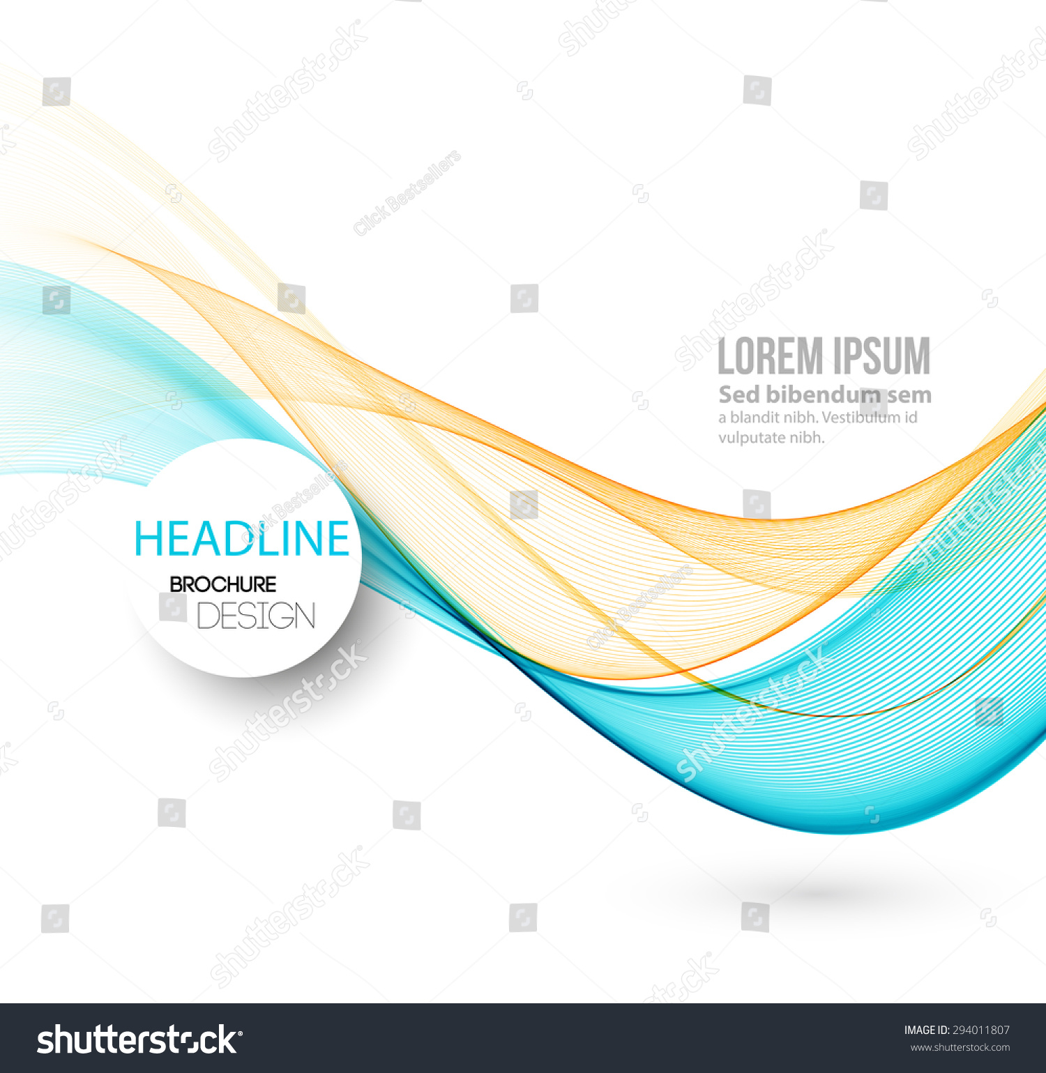 Curved lines background photo