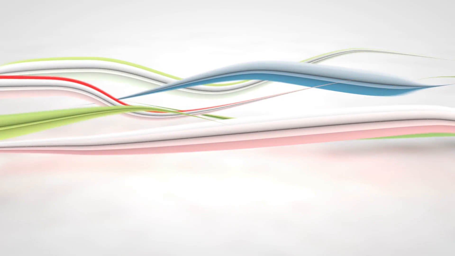 colorful curved 3D lines loop background Motion Background - Videoblocks