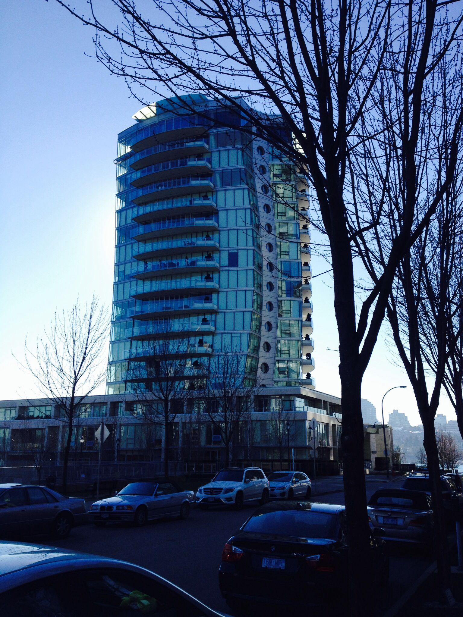 The Erickson on Homer St. Curvy building. | Vancouver Real Estate ...