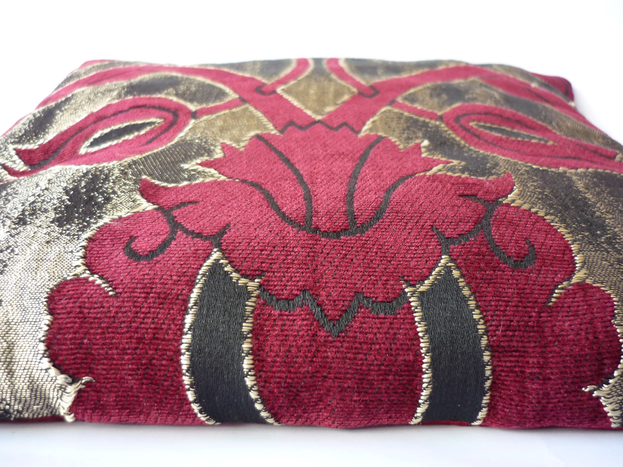 Free photo: Cushions - Red, Sewed, Pillow - Free Download - Jooinn