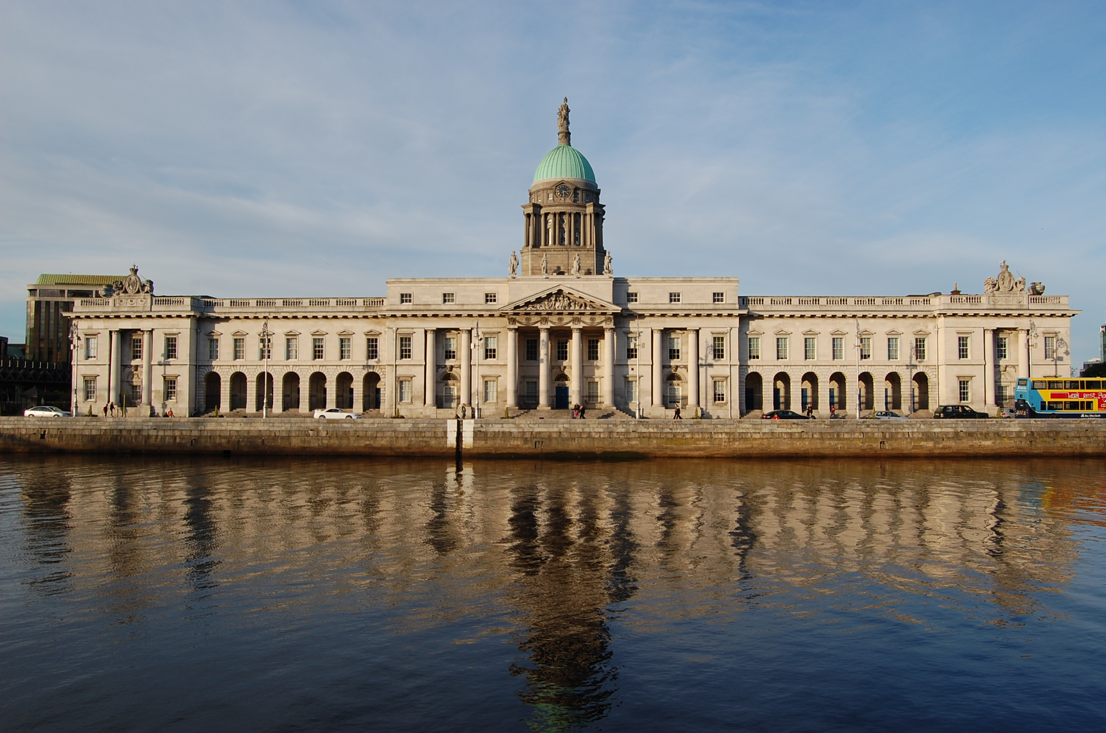Dublin custom house photo