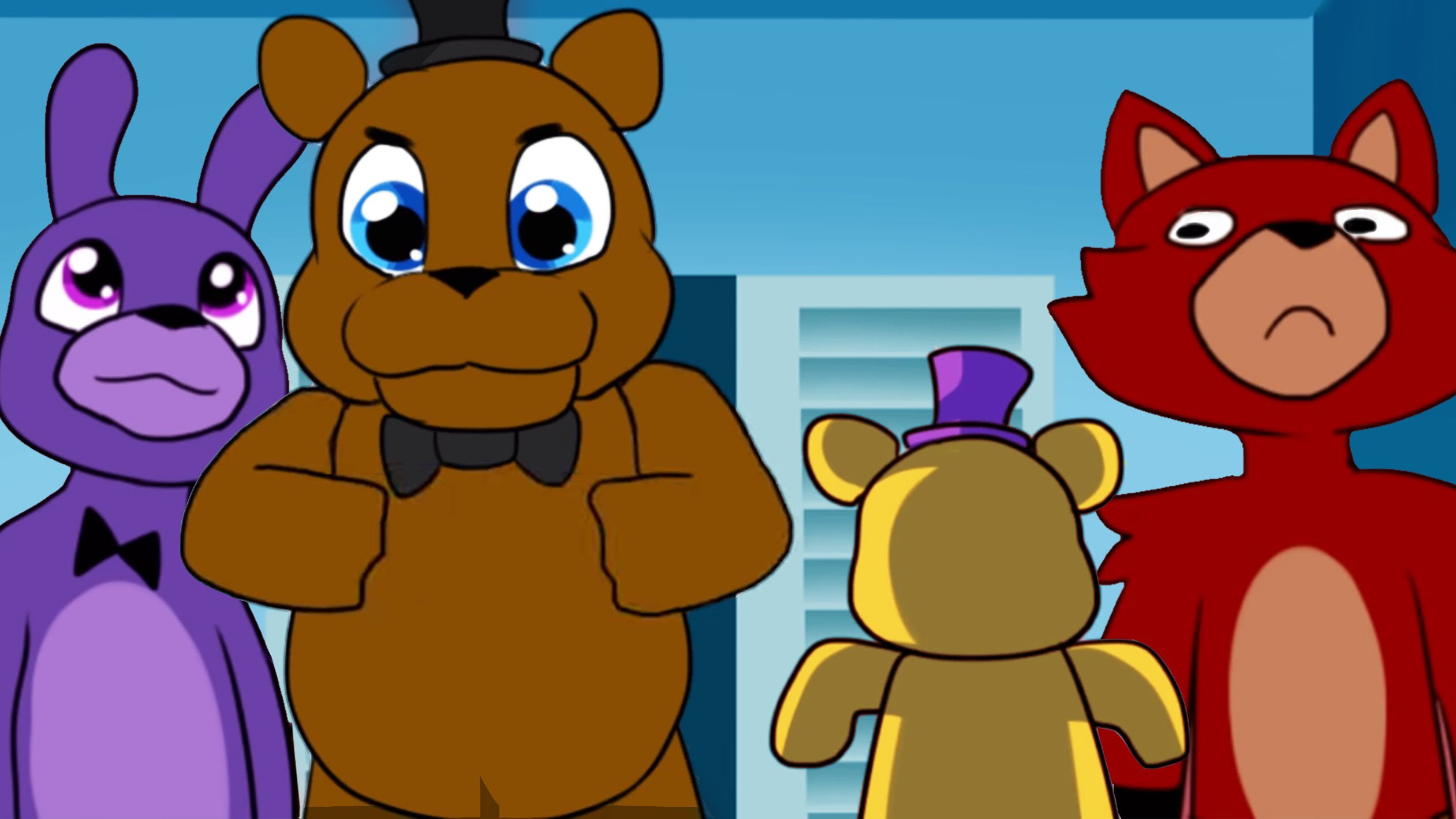 Comic Animation] Cute Nights at Freddy's - YouTube