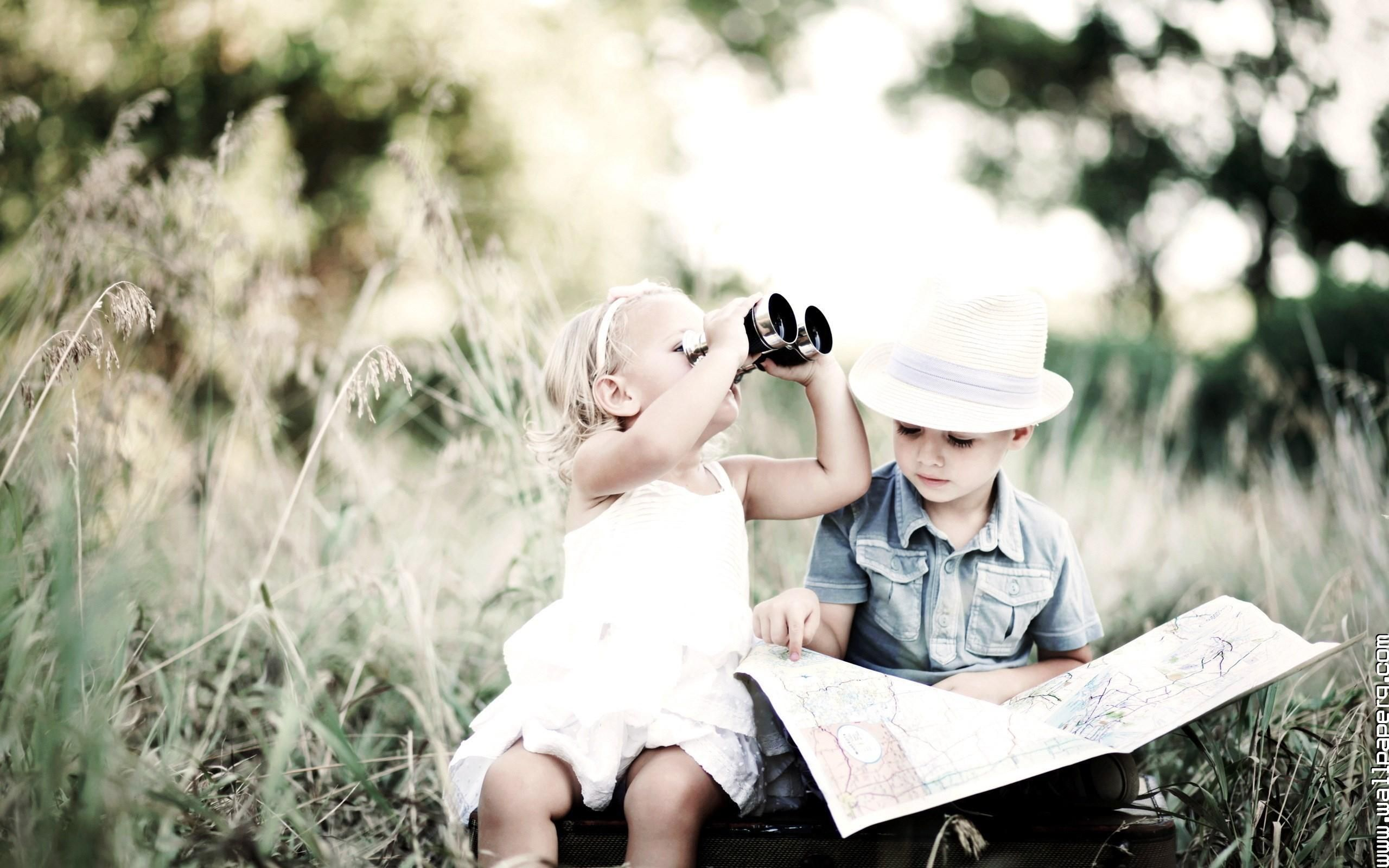 Pictures: Cute Kid Couples, - DRAWING ART GALLERY