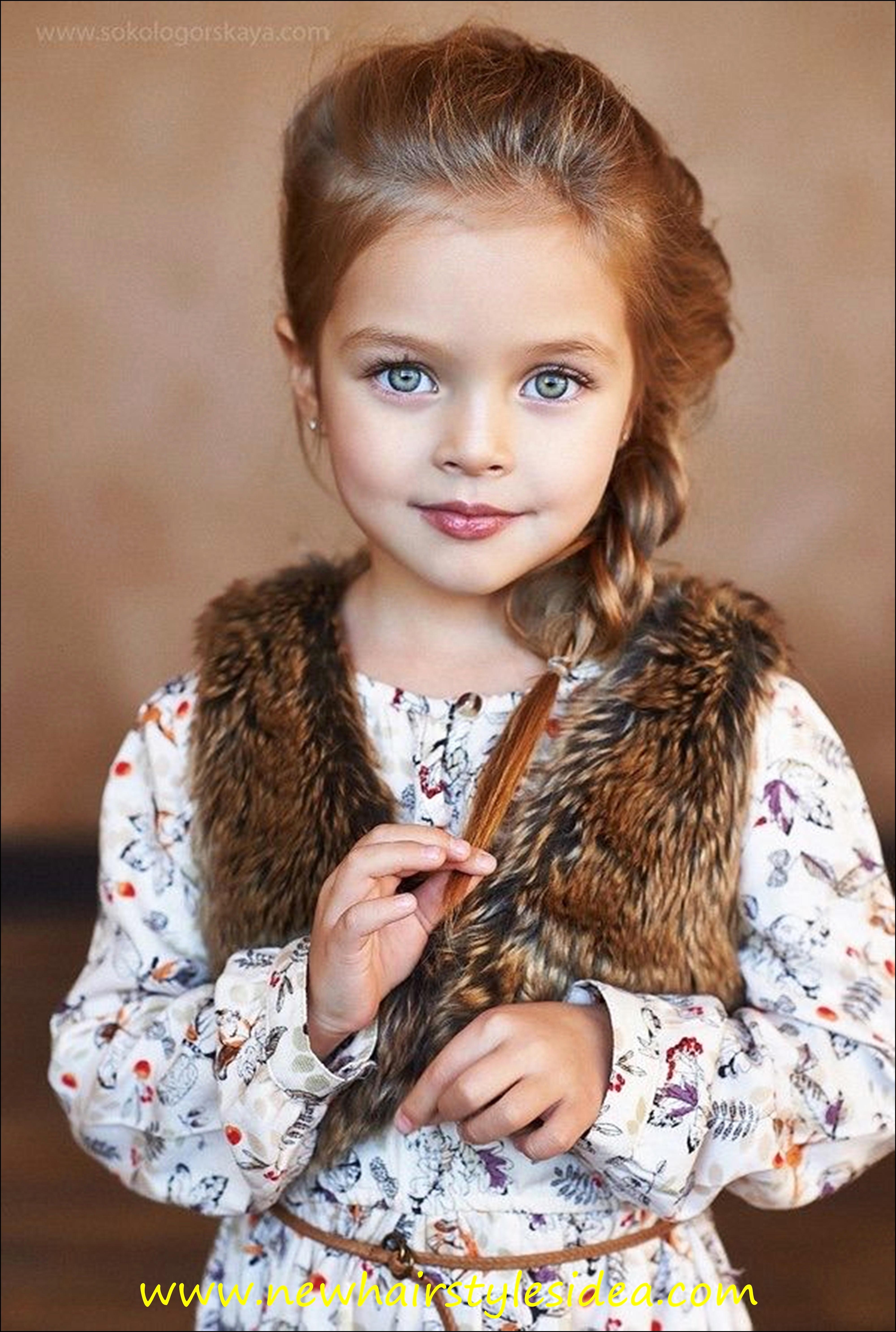 Free Photo Cute Little Girl Little Orange Portrait Free