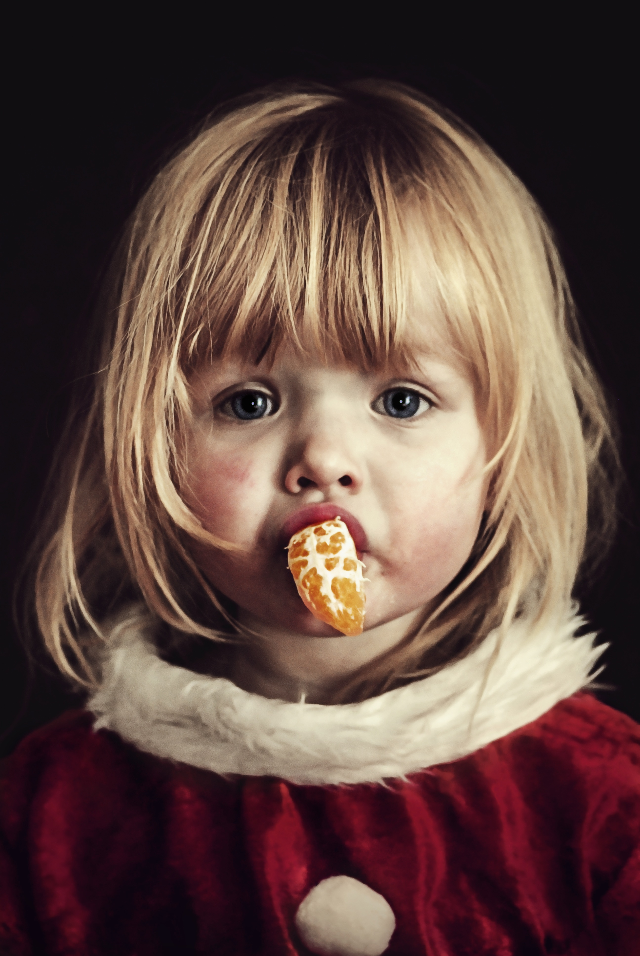 Cute Little Girl, Adorable, Child, Cute, Eating, HQ Photo