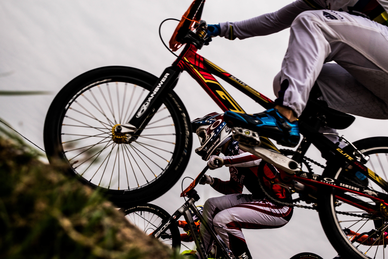Cyclist, Bike, Biker, Finish, Race, HQ Photo