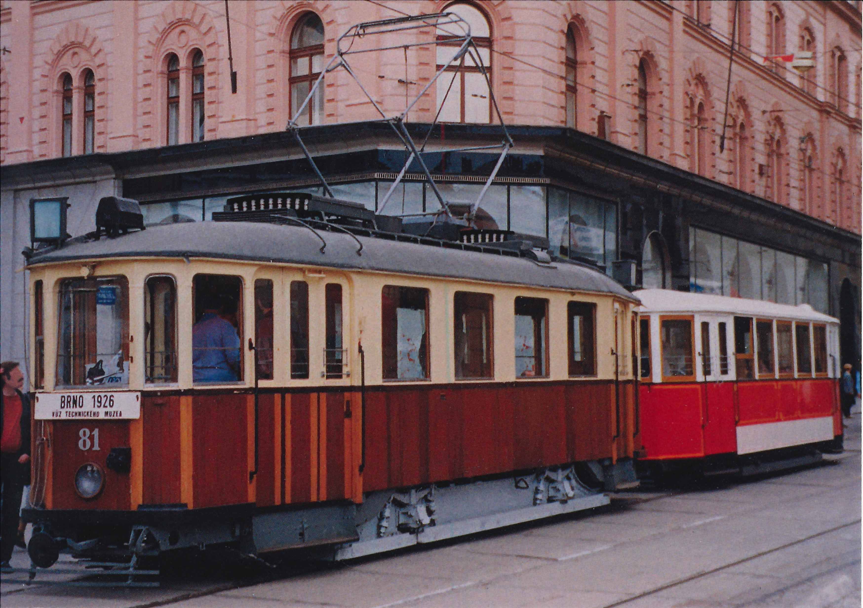 Czech tram old, Architecture, Brno, Building, Outdoor, HQ Photo