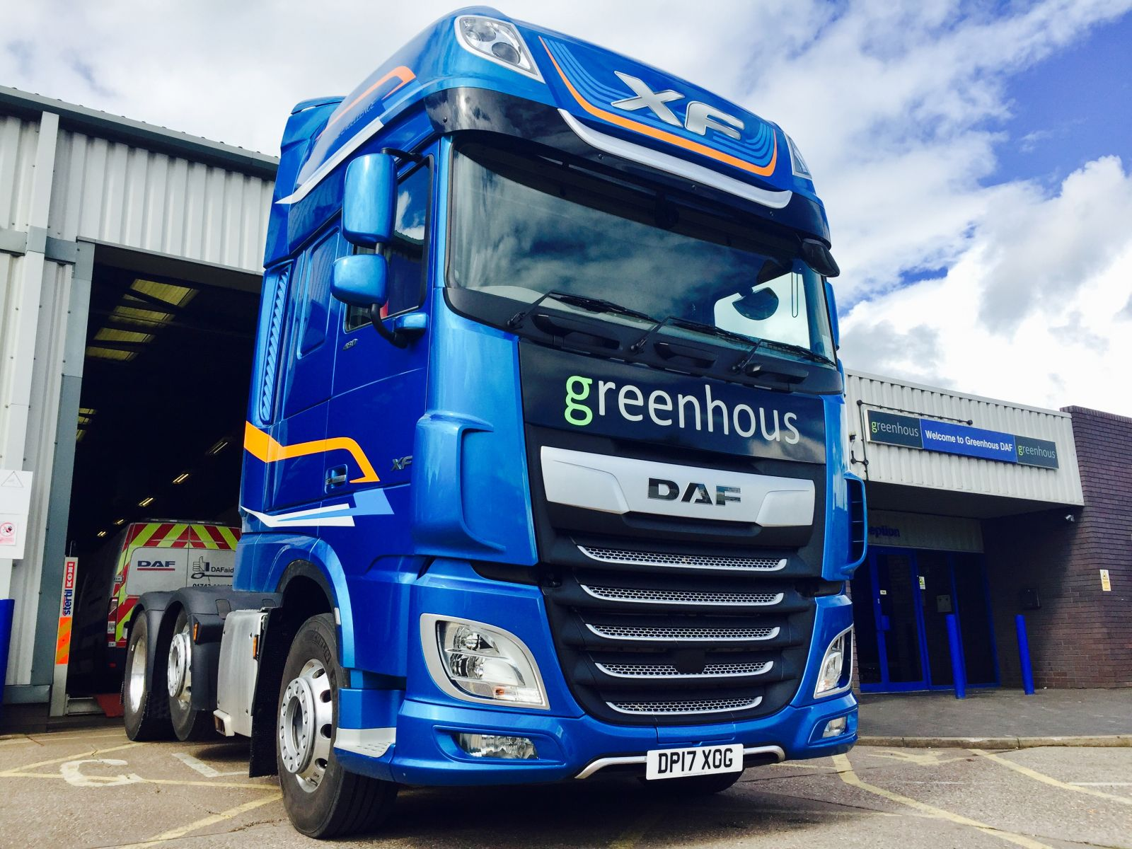 DAF Trucks, Truck Parts, Truck Servicing Shropshire | Greenhous DAF ...
