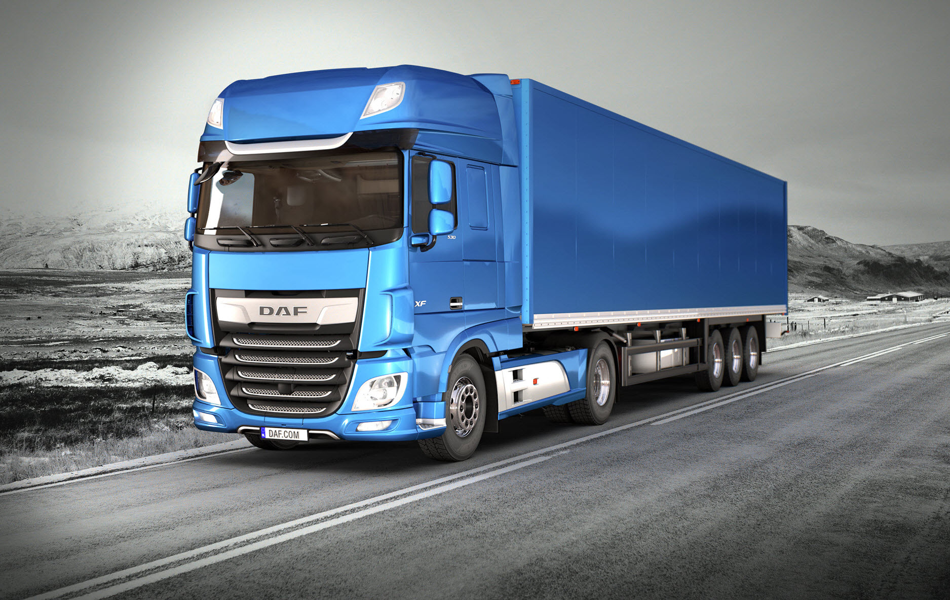 3D Truck Configurator - DAF Trucks Limited