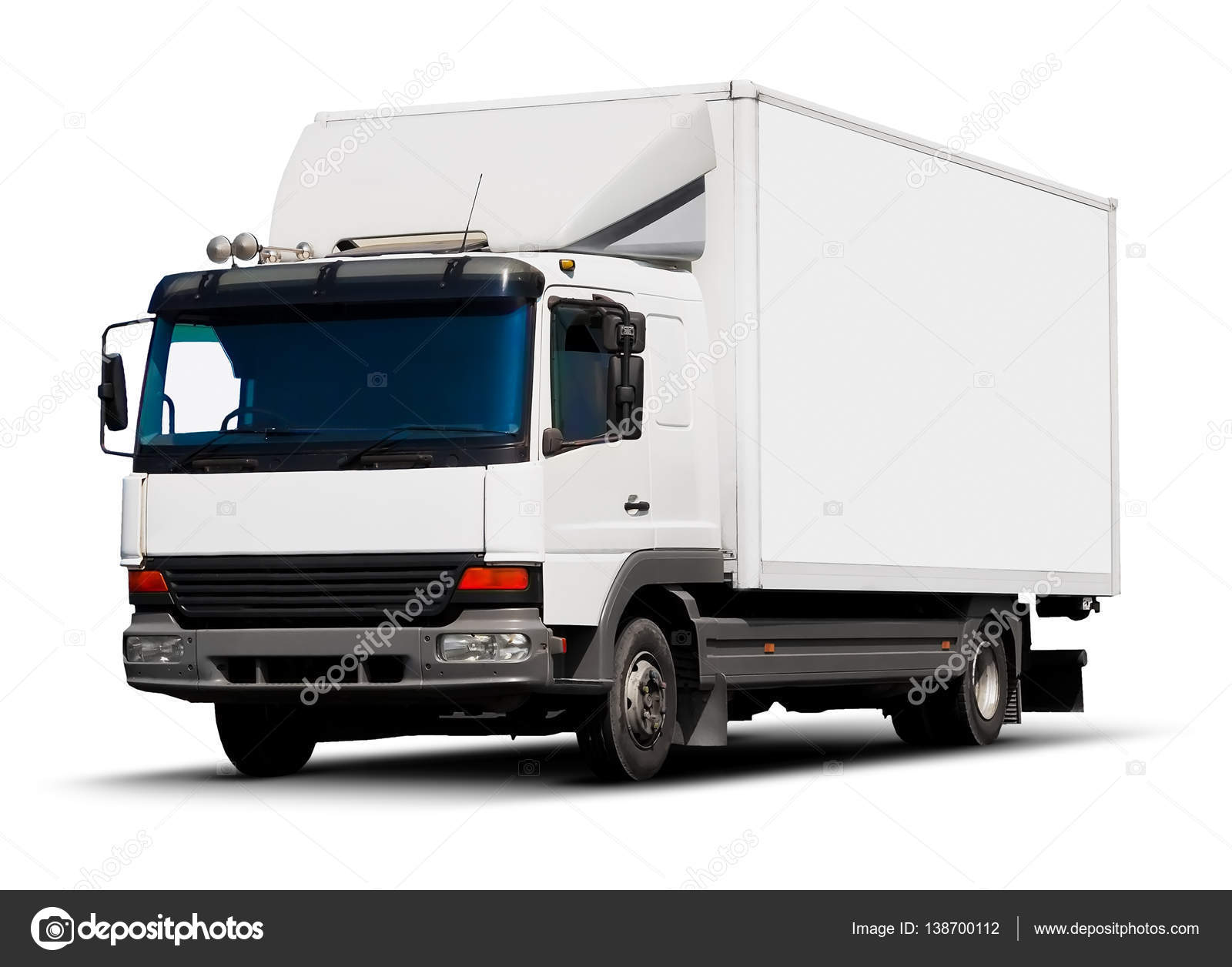 White delivery truck — Stock Photo © scanrail #138700112