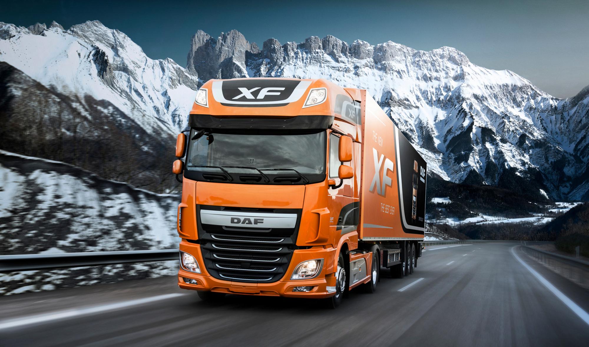 Daf truck photo