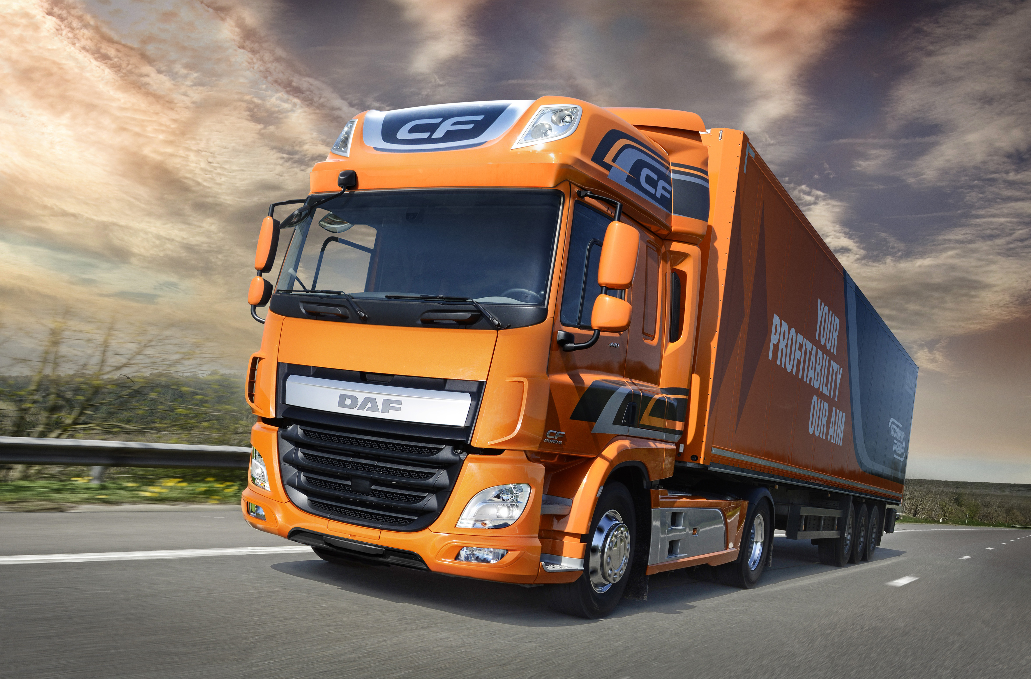 Growth in major truck markets: DAF expands market position in Europe ...