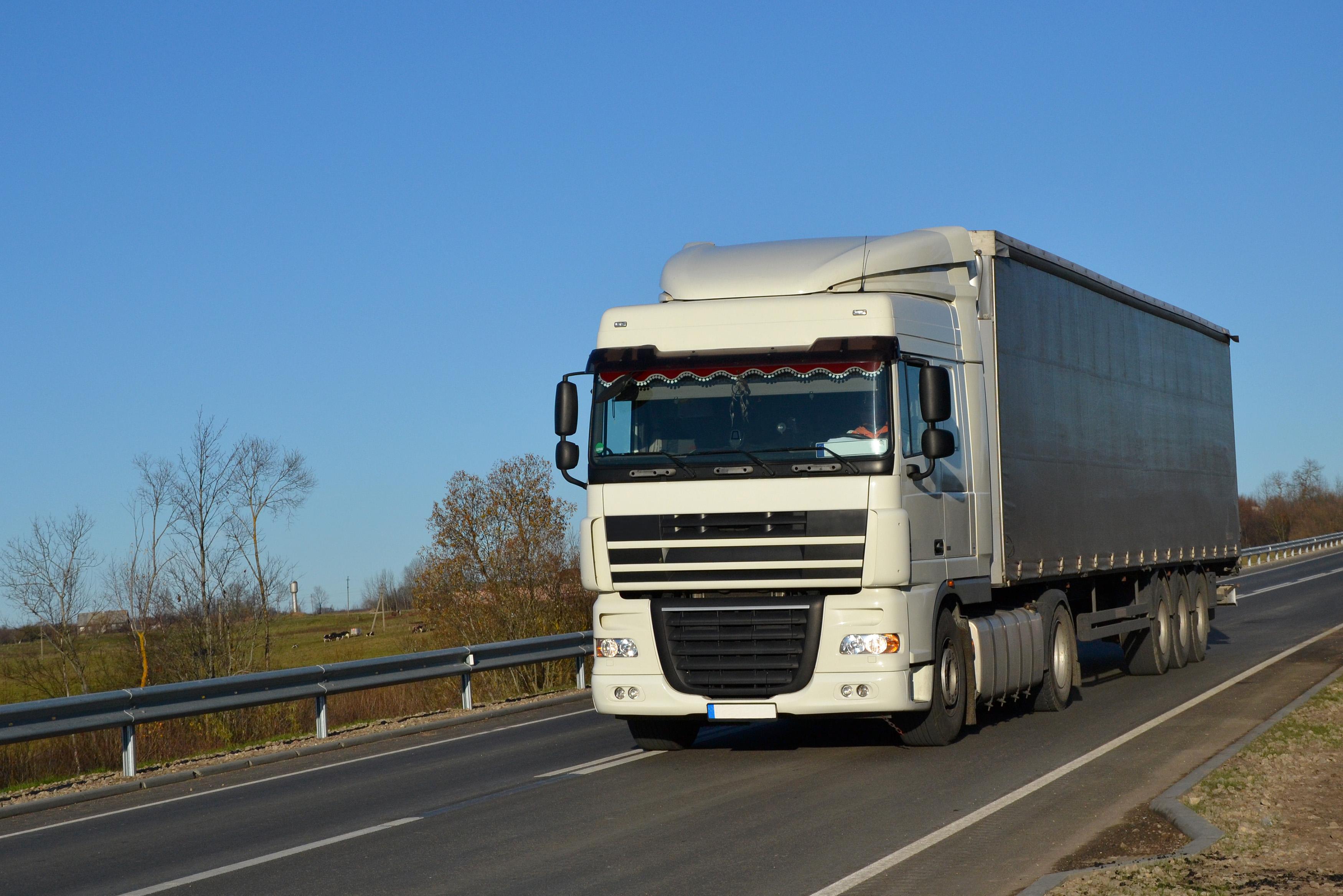 DAF XF lorry, Automobile, Road, Semi-trailer, Semitrailer, HQ Photo
