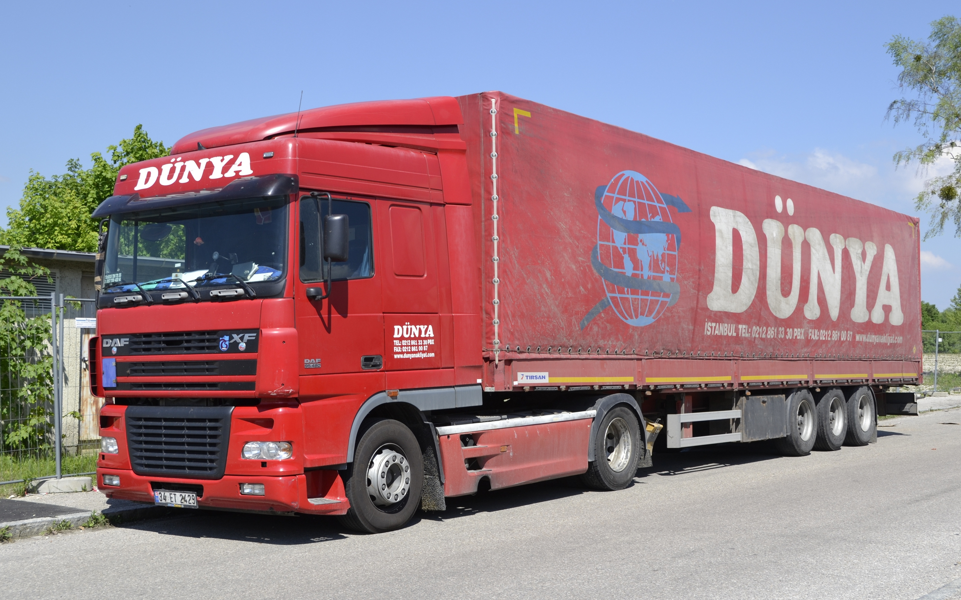 File:Turkish DAF XF truck in Munich.jpg - Wikimedia Commons