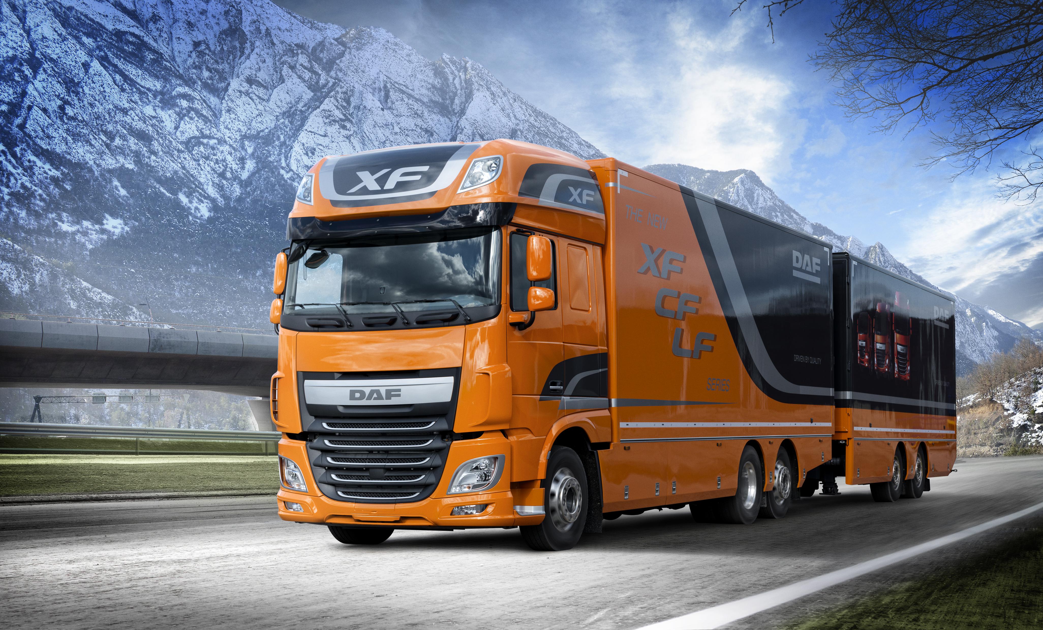 DAF Trucks at IAA 2016 in Hanover - DAF on the IAA 2016
