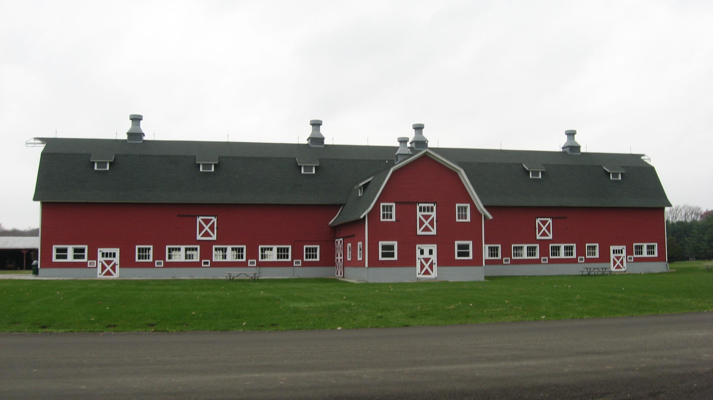 Dairy barn photo