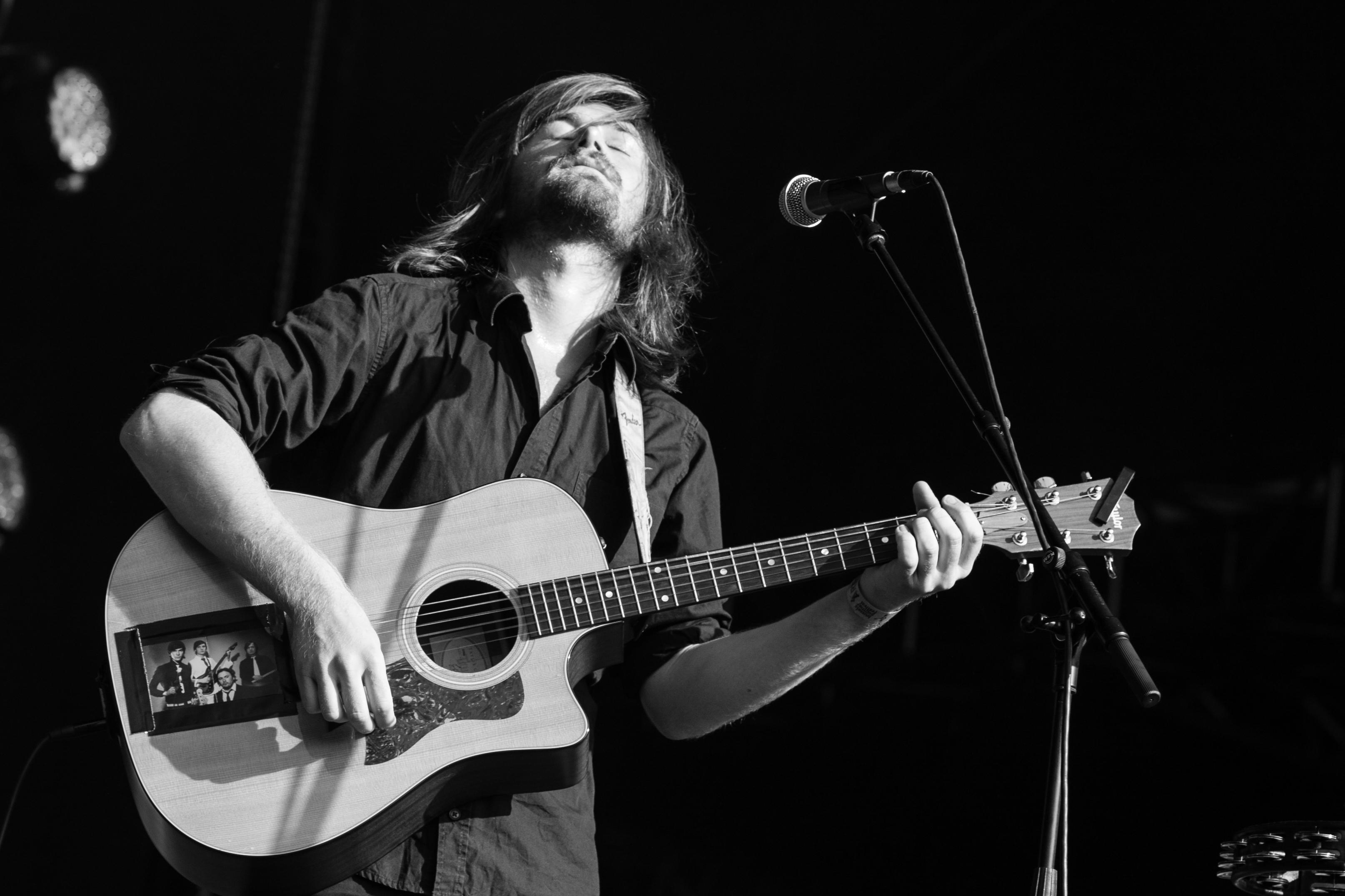 Dan San @ Brussels Summer Festival 2012, 2012, Guitar, Stringed instrument, San, HQ Photo