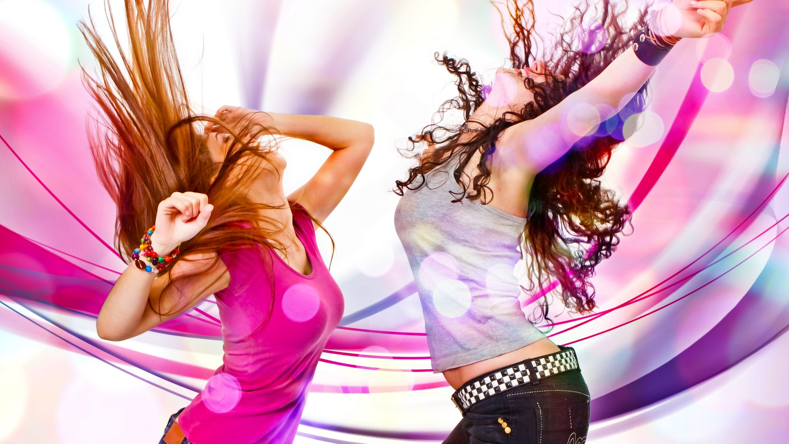 2560x1440 Dance, Bright, Dancing Girls, Girls, Color Wallpapers and ...