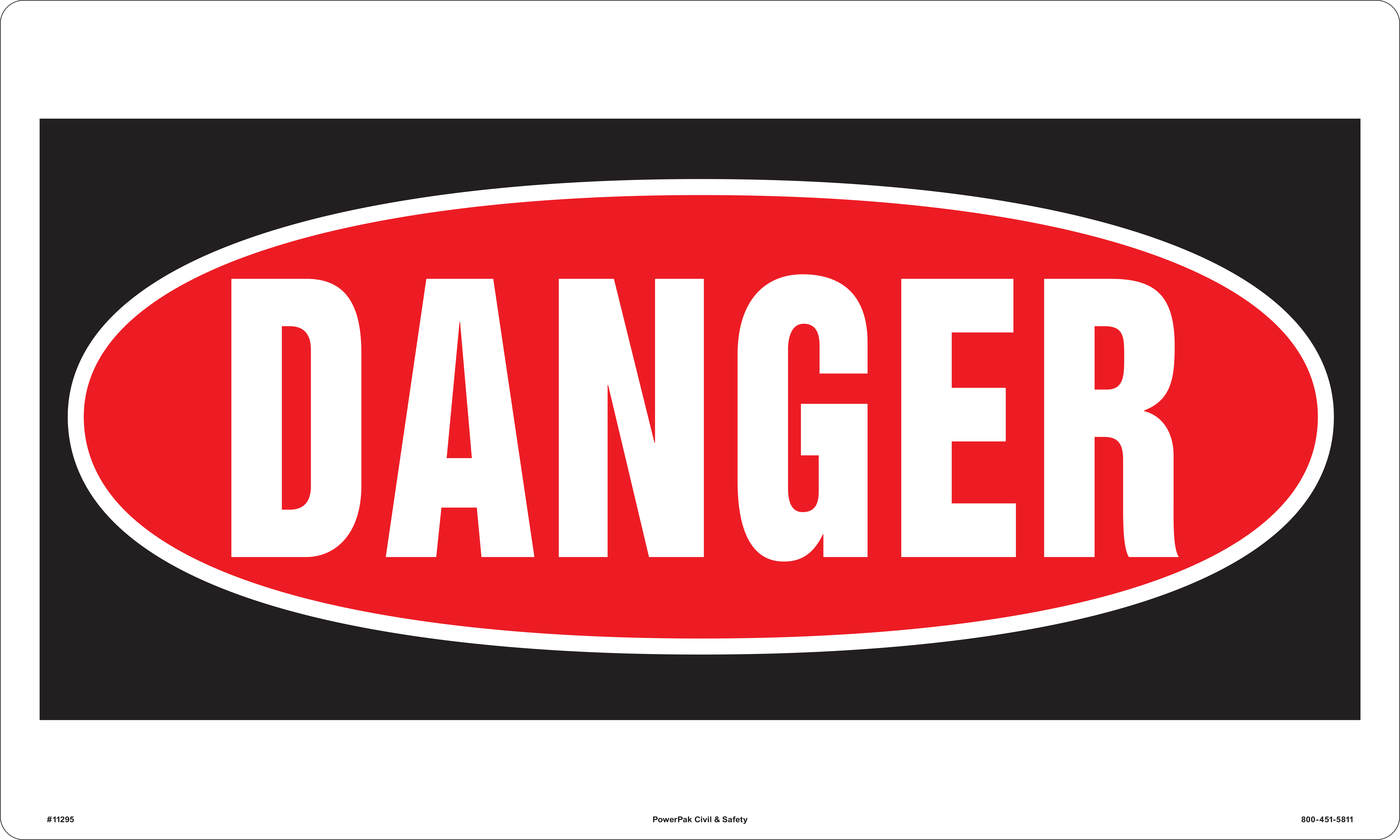 free photo danger sign text sign rounded free