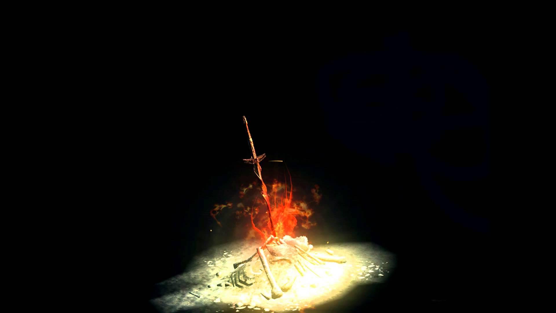 Dark Souls - Bonfire - YouTube